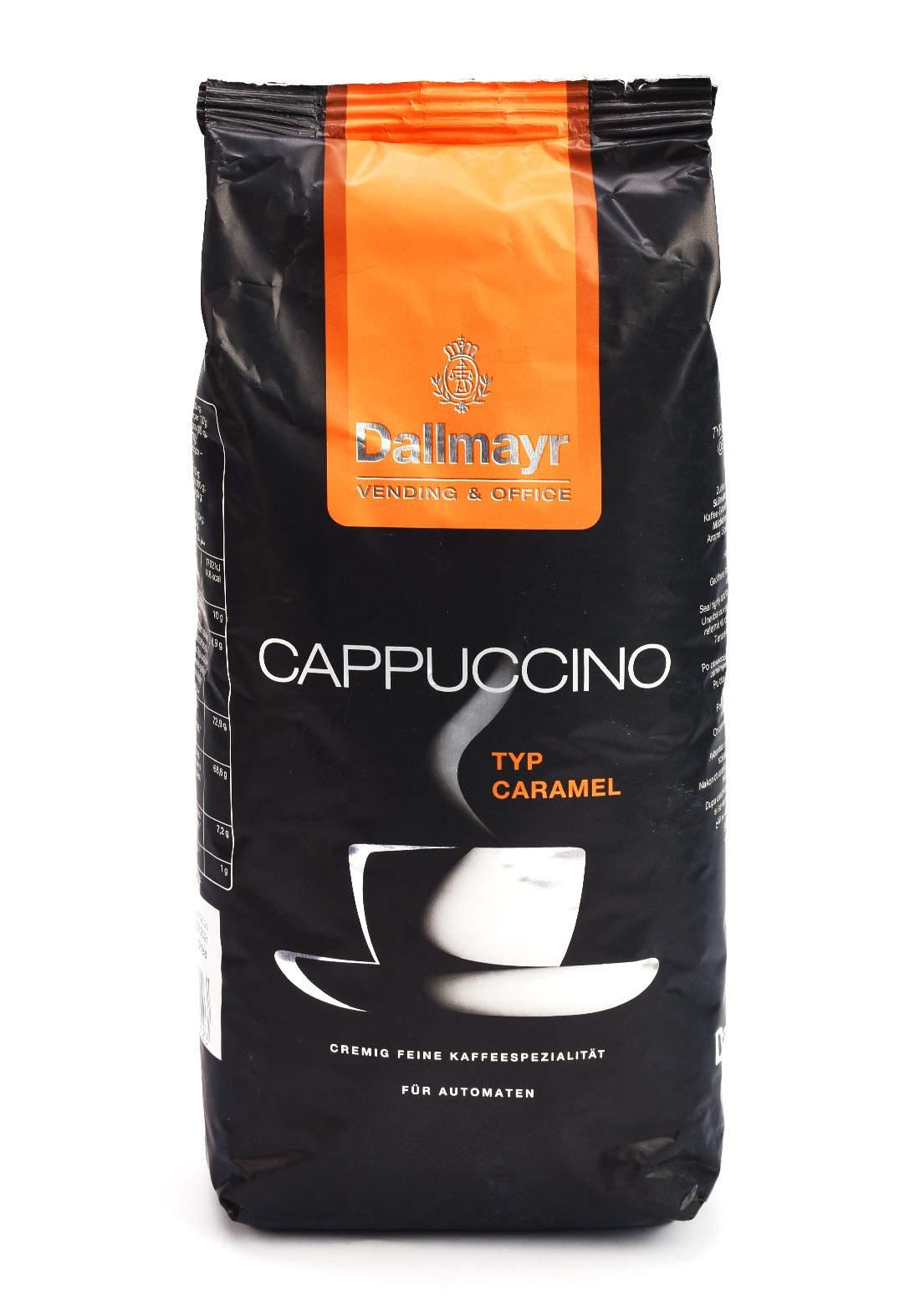 Dallmayr Vending & Office  Cappuccino Typ Caramel 1kg  كابتشينو بالكراميل
