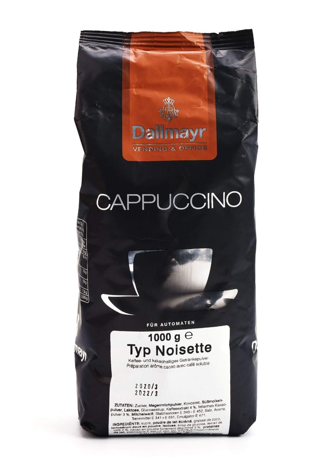 Dallmayr Vending & Office Cappuccino Typ Noisette 1kg كابتشينو