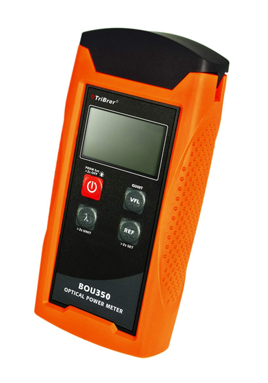 TriBrer BOU350 Optical Power Meter - Orange مقياس طاقة الألياف الضوئية