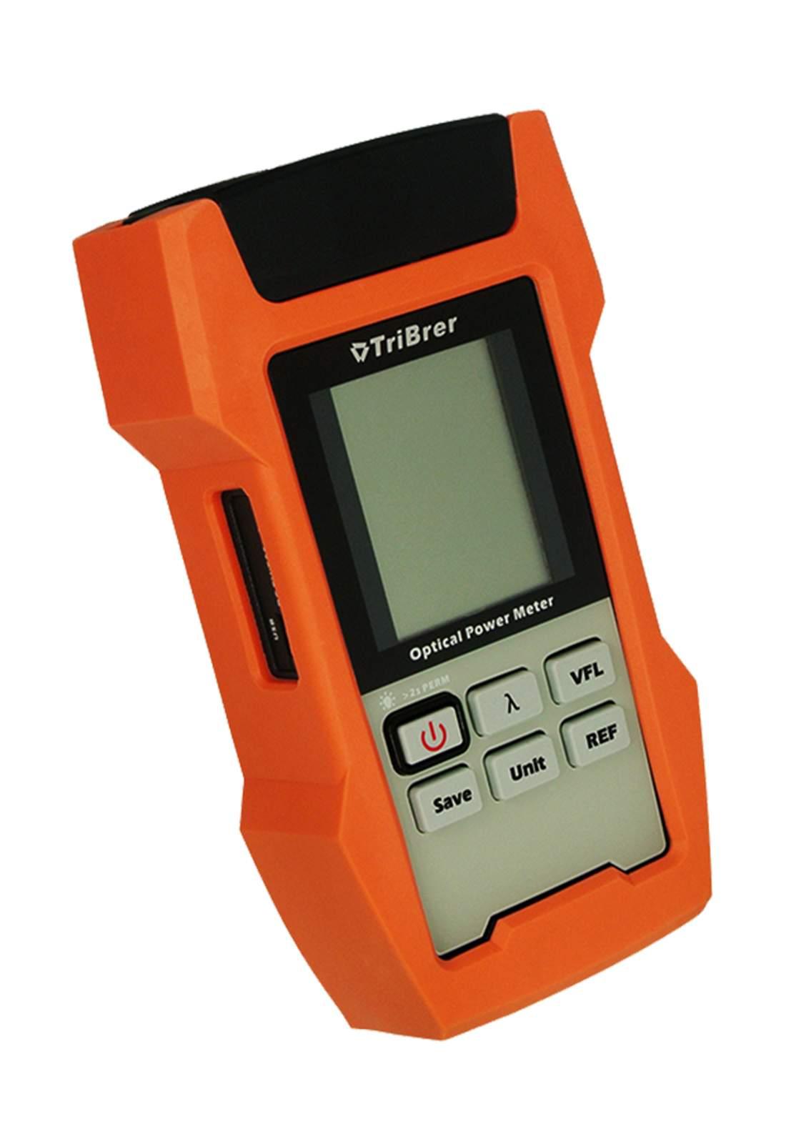 TriBrer AOP100 Optical Power Meter - Orange مقياس طاقة الألياف الضوئية