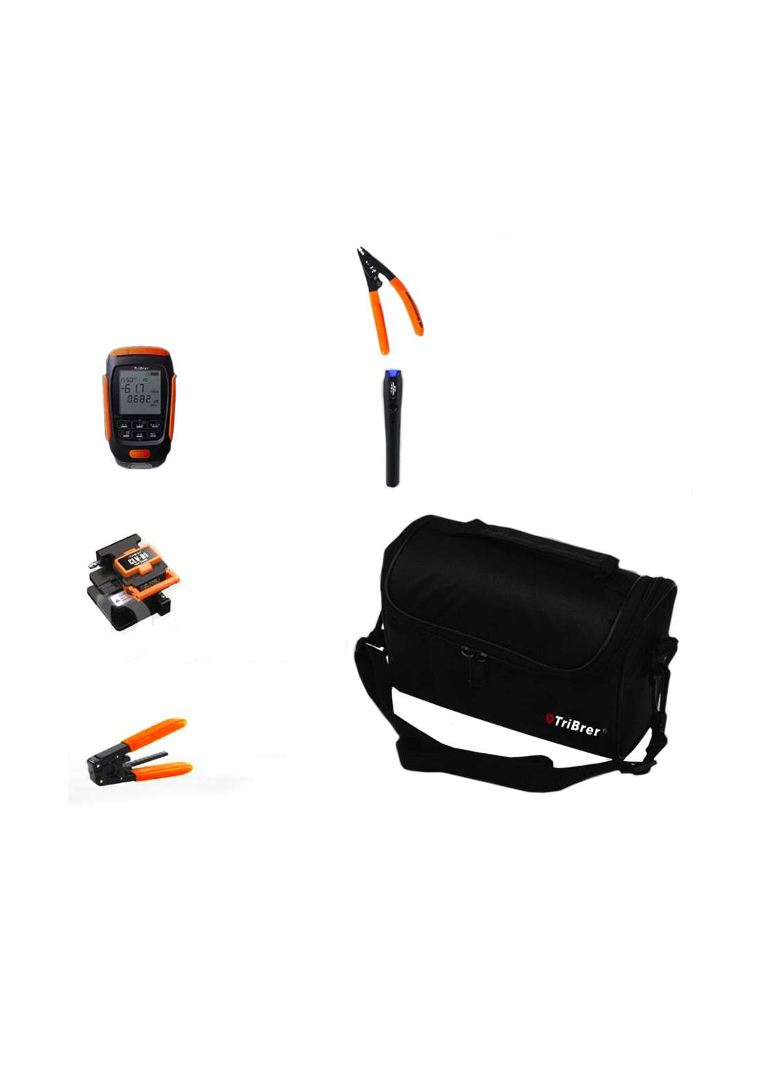 Tribrer APM58NC-V20 Ftth Tool Kit  مجموعة قياس الكابل الضوئي