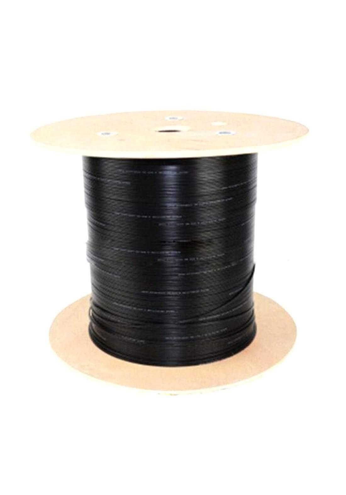 STS (GYXTY-4B1) 4 Core Fiber Optic Cable - Black كابل ضوئي