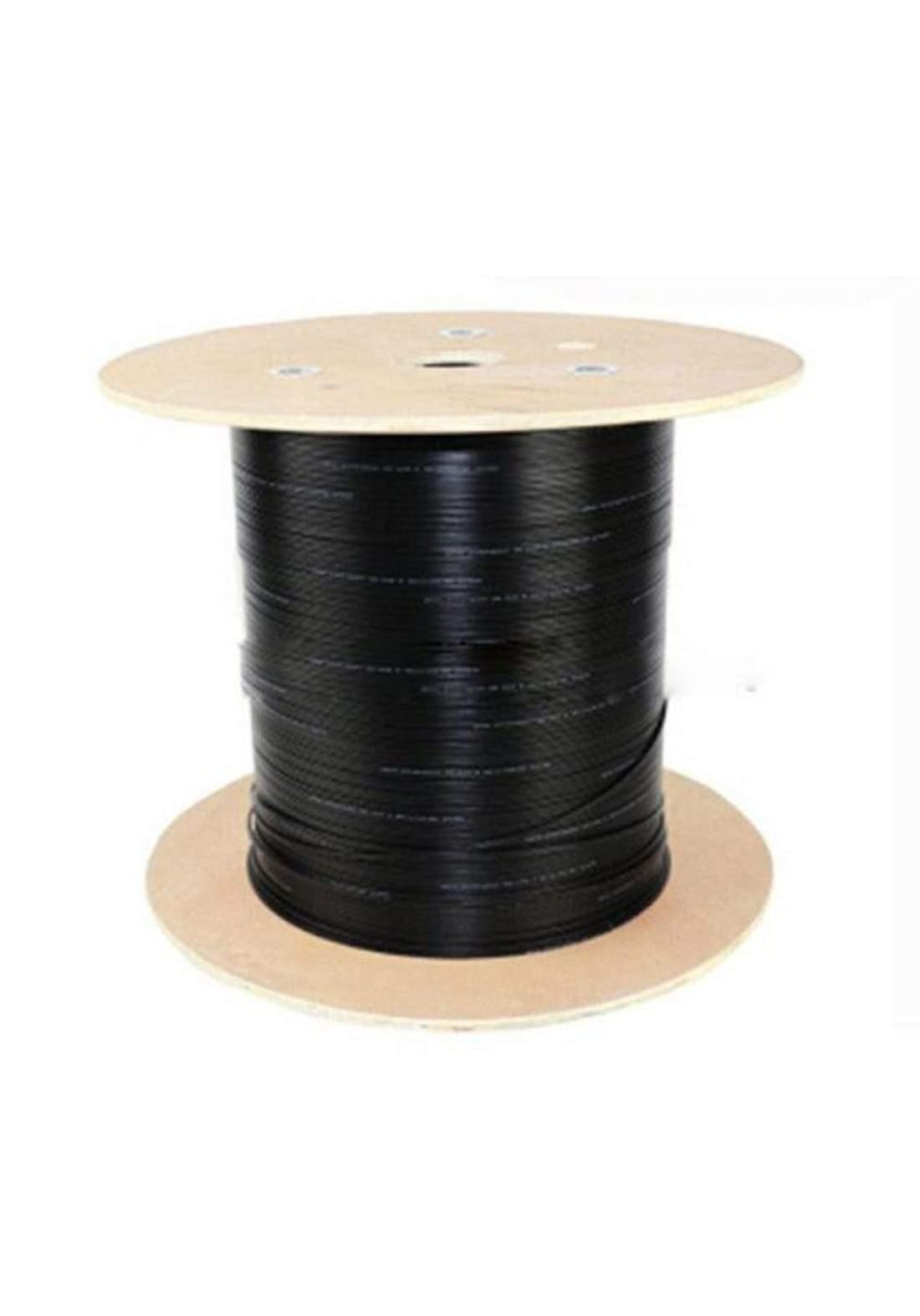 STS GYXTW-4B1 4 Core Fiber Optic Cable - Black كابل ضوئي