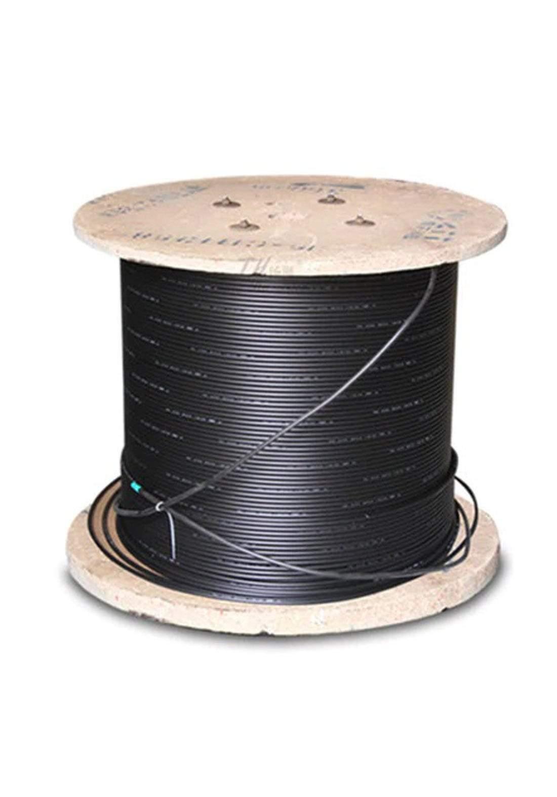 STS( GYXTW-6B1) 6 Core Fiber Optic Cable - Black كابل ضوئي
