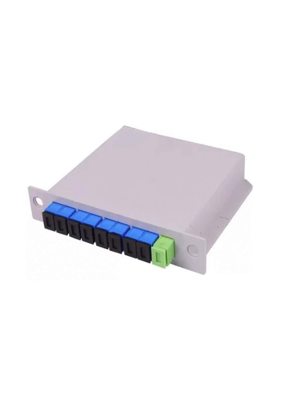 STS Fiber Optic Splitter 1X2 - Silver جهاز تقسيم الألياف البصرية