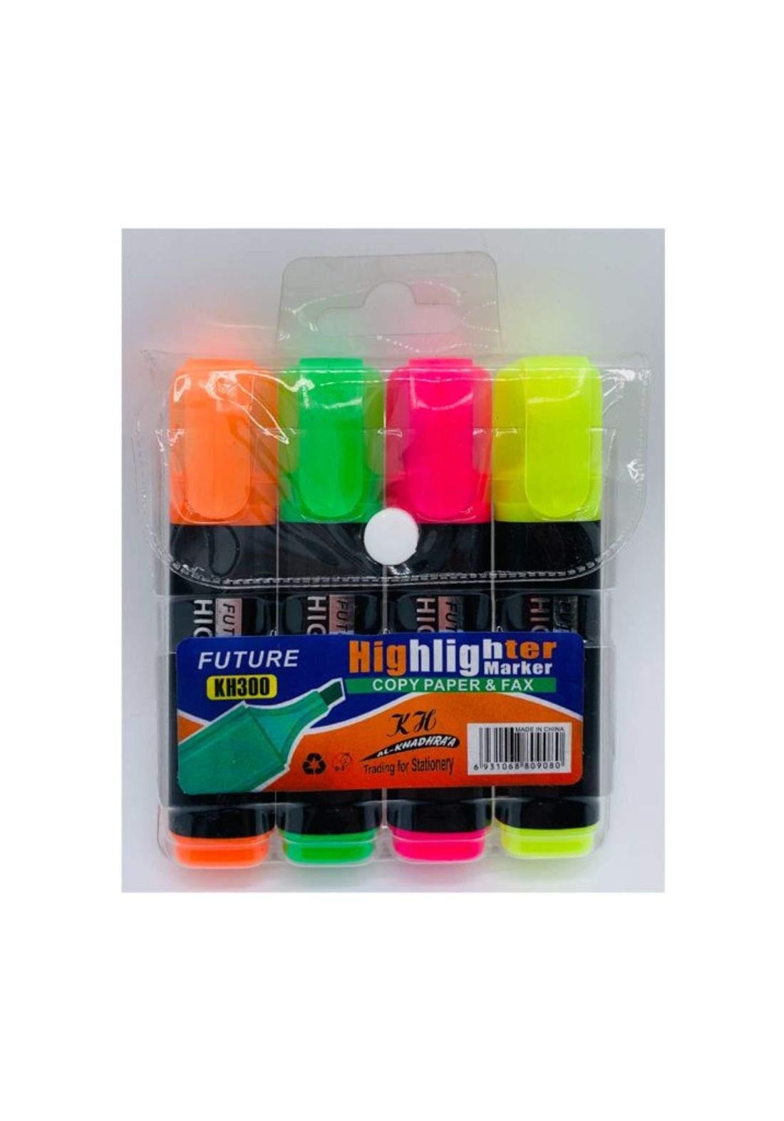 Highlighter Markers اقلام تحديد