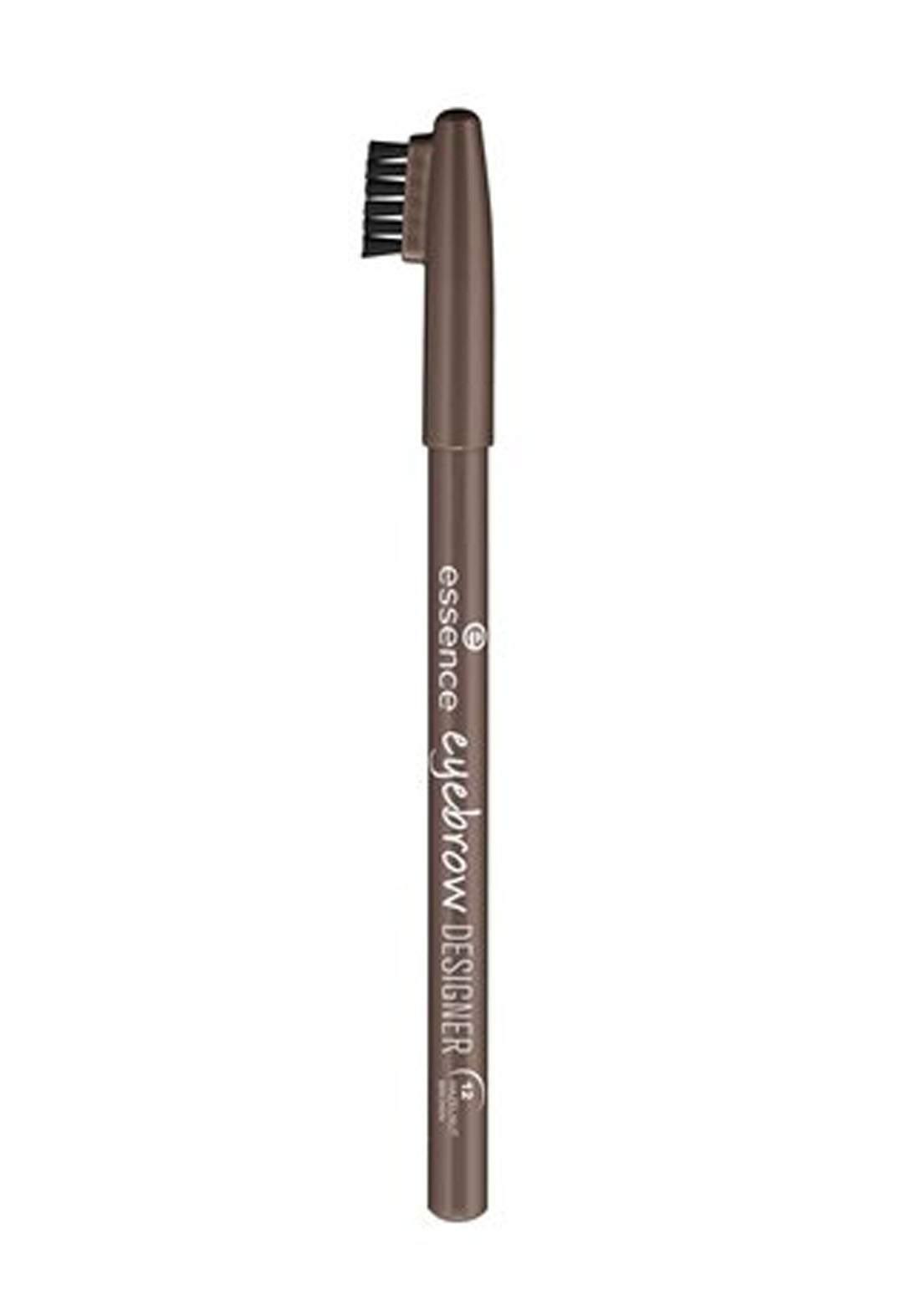 Essence Eyebrow Designer No.12 Hazelnut Brown  1g  قلم تحديد الحاجب بفرشاة