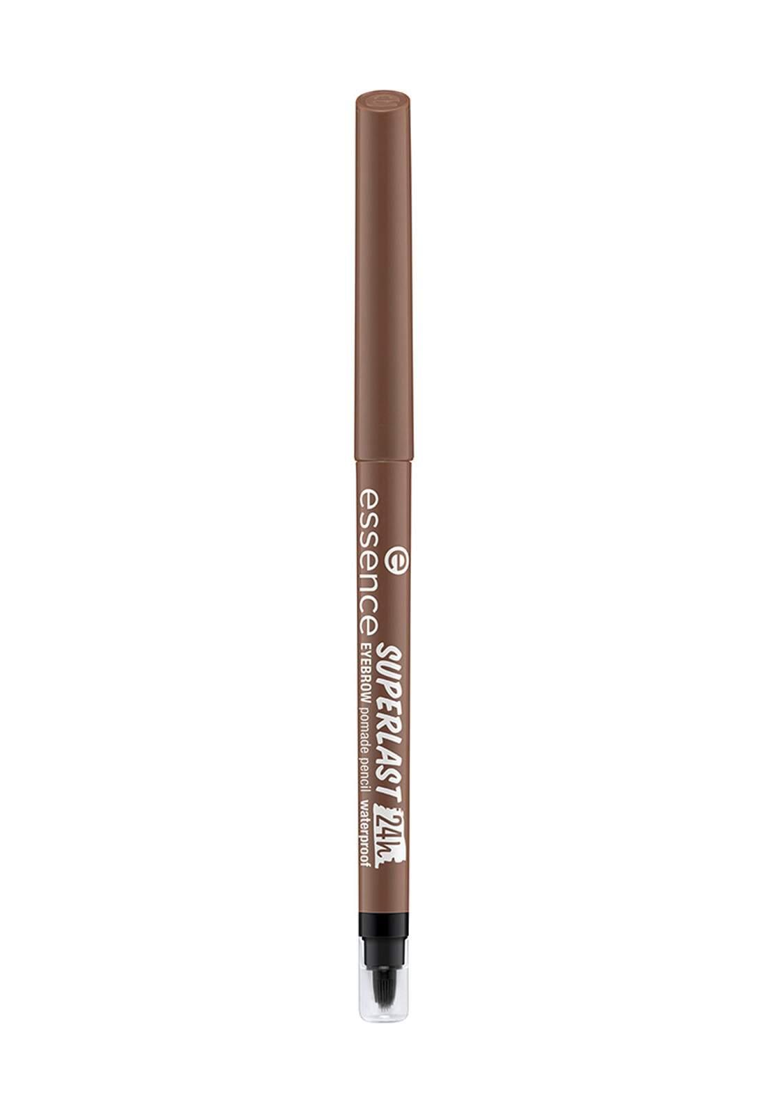 Essence Superlast Eyebrow Pencil Waterproof No.20 Brown قلم تحديد الحاجب