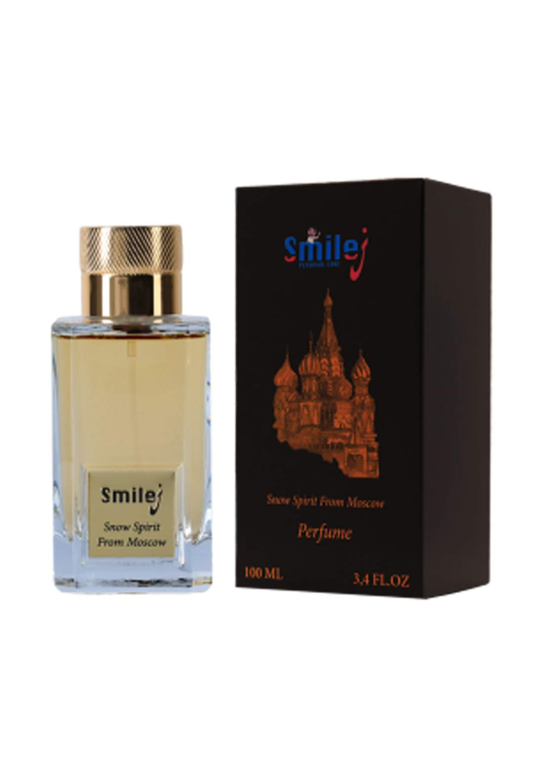 Smilej Perfume Snow Spirit From Moscow 100ml عطر رجالي