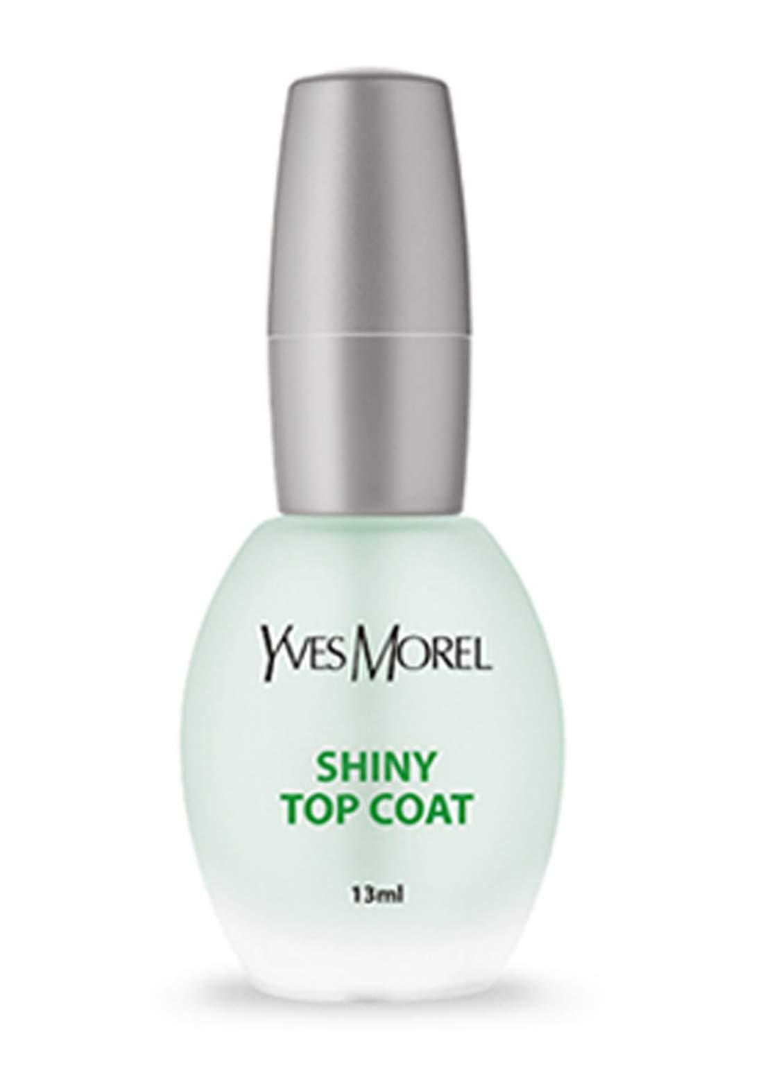 Yves Morel Nails Shiny Top Coat Protection 13ml مقوي اظافر