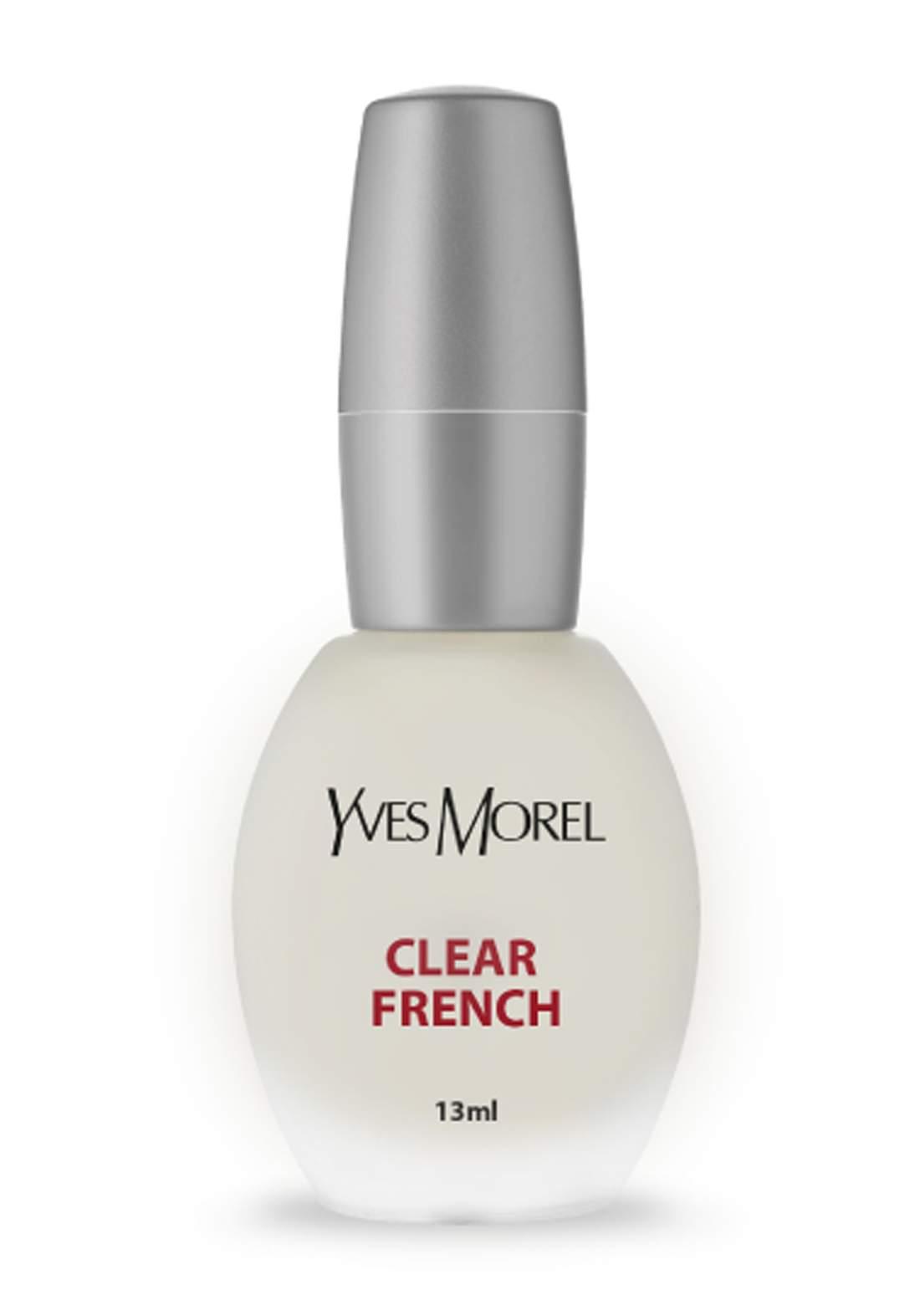 Yves Morel Clear French Nourishing Treatment 13ml منظف ومقوي للاظافر