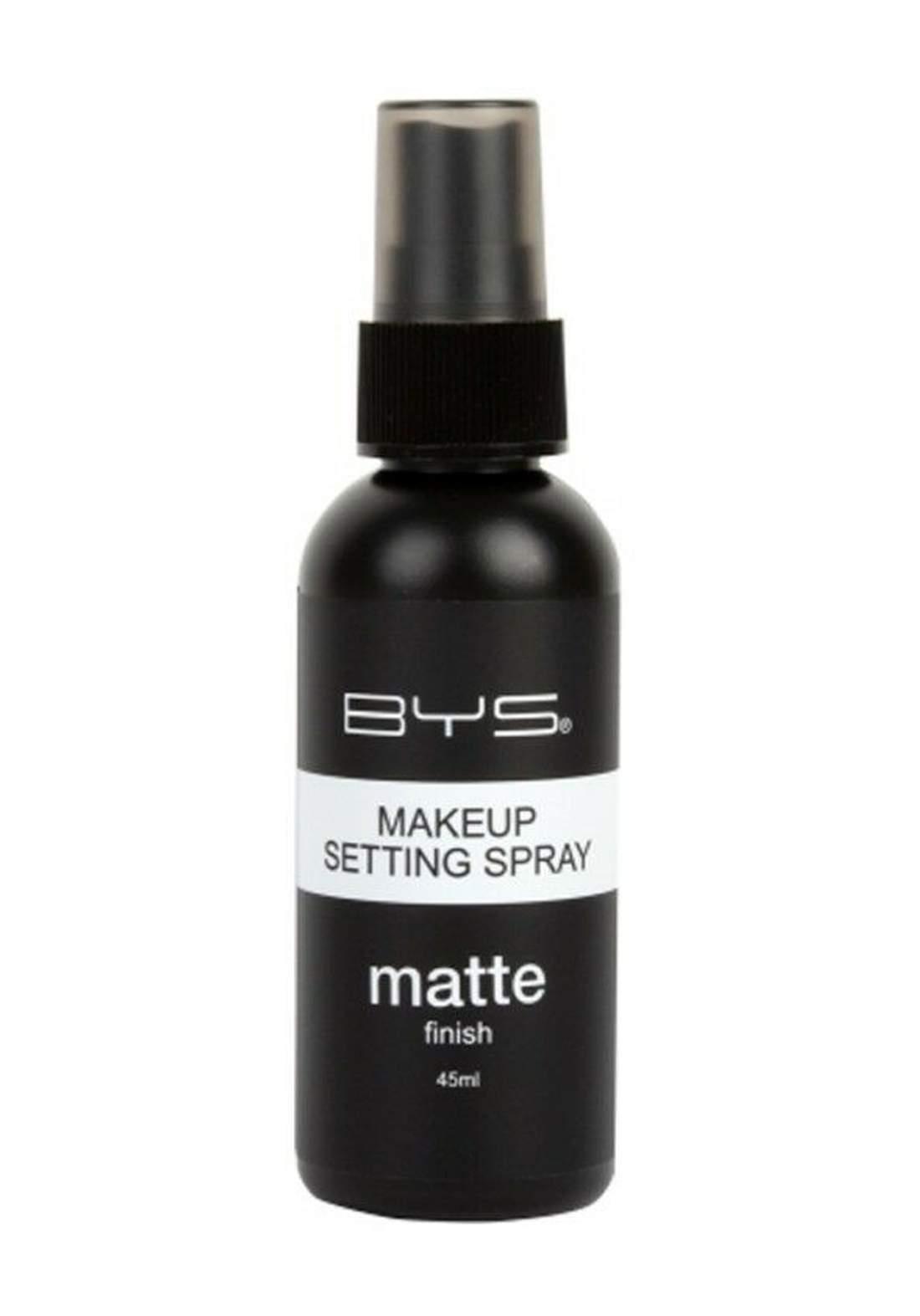 Bys Matte Makeup Setting Spray 45ml بخاخ مثبت للمكياج