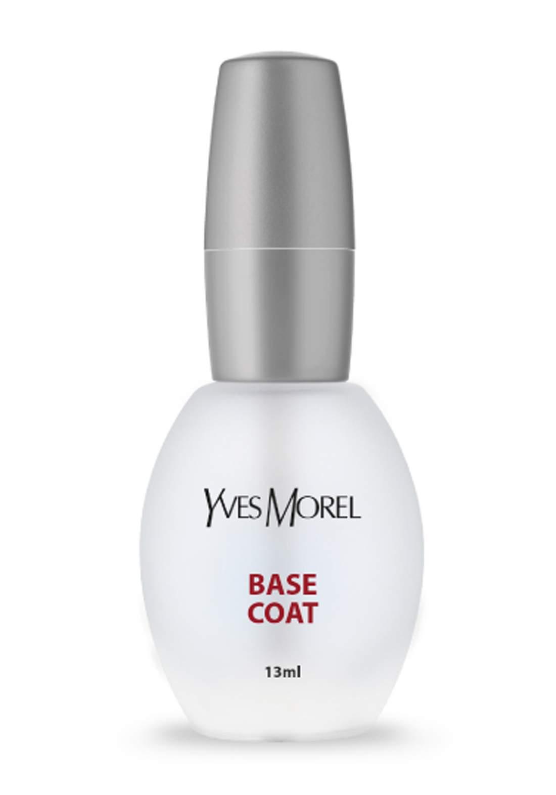 Yves Morel Nail Base Coat 13ml قاعدة ترطيب للاظافر