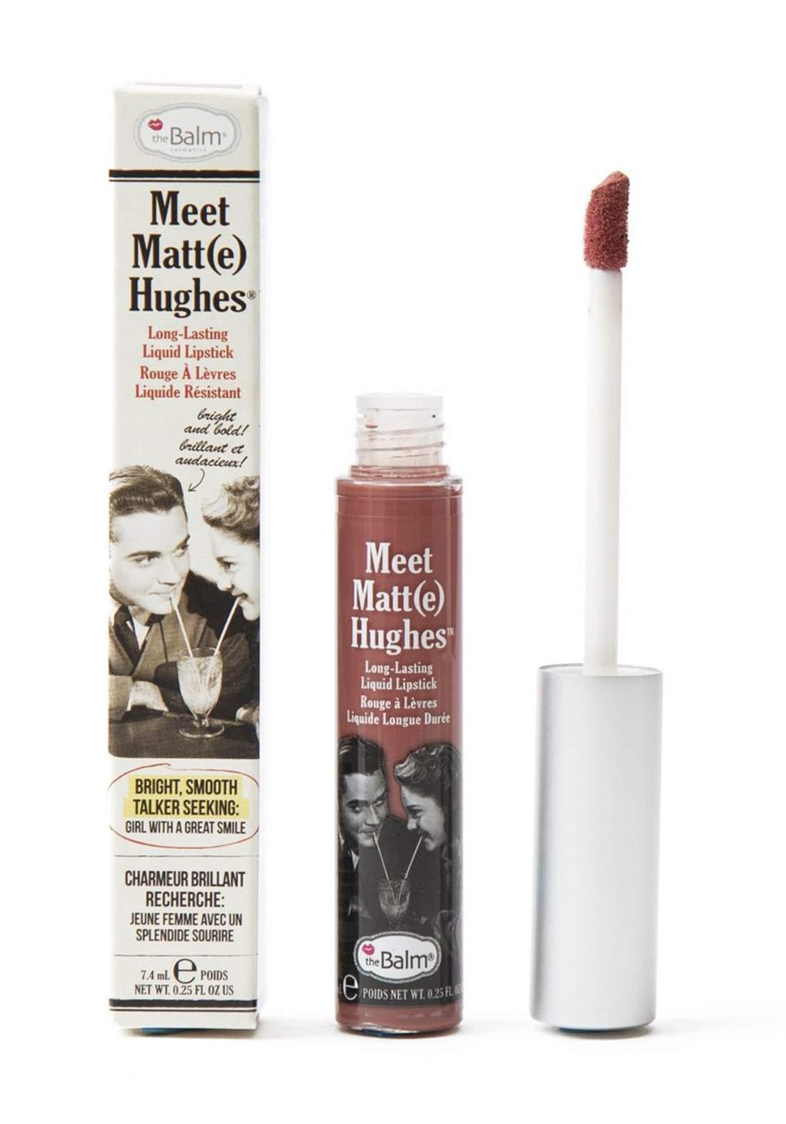 The Balm Meet Matt Hughes Lipstick Sincere  احمر شفاه