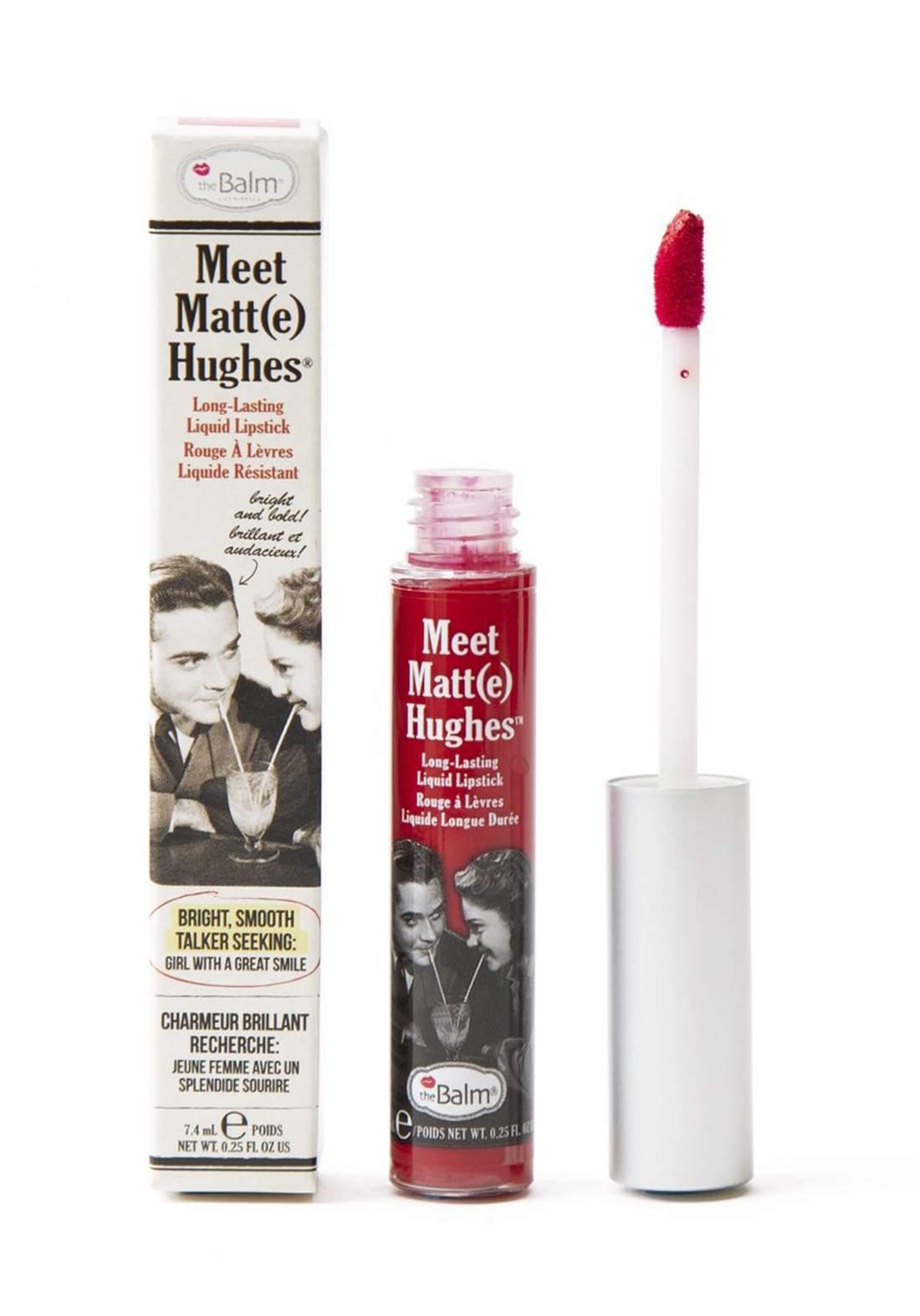 The Balm Meet Matt Hughes Lipstick Devoted  احمر شفاه