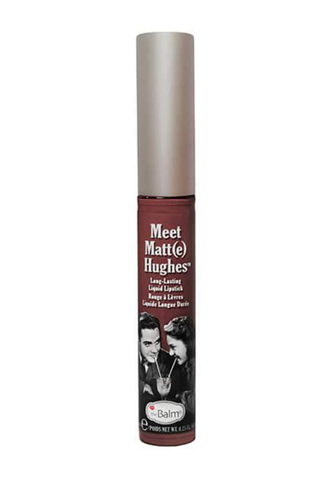 The Balm Meet Matt Hughes Lipstick Charming  احمر شفاه