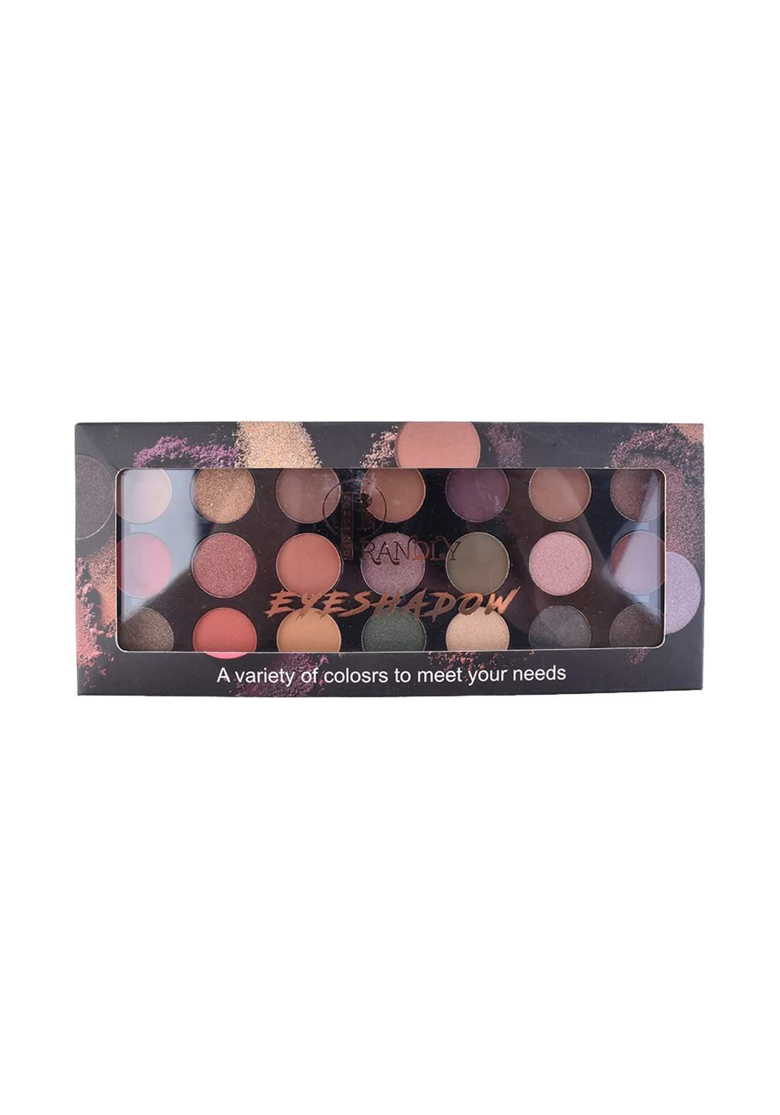 Brandly Cosmetics Eyeshadow Palette No.2 ظلال عيون