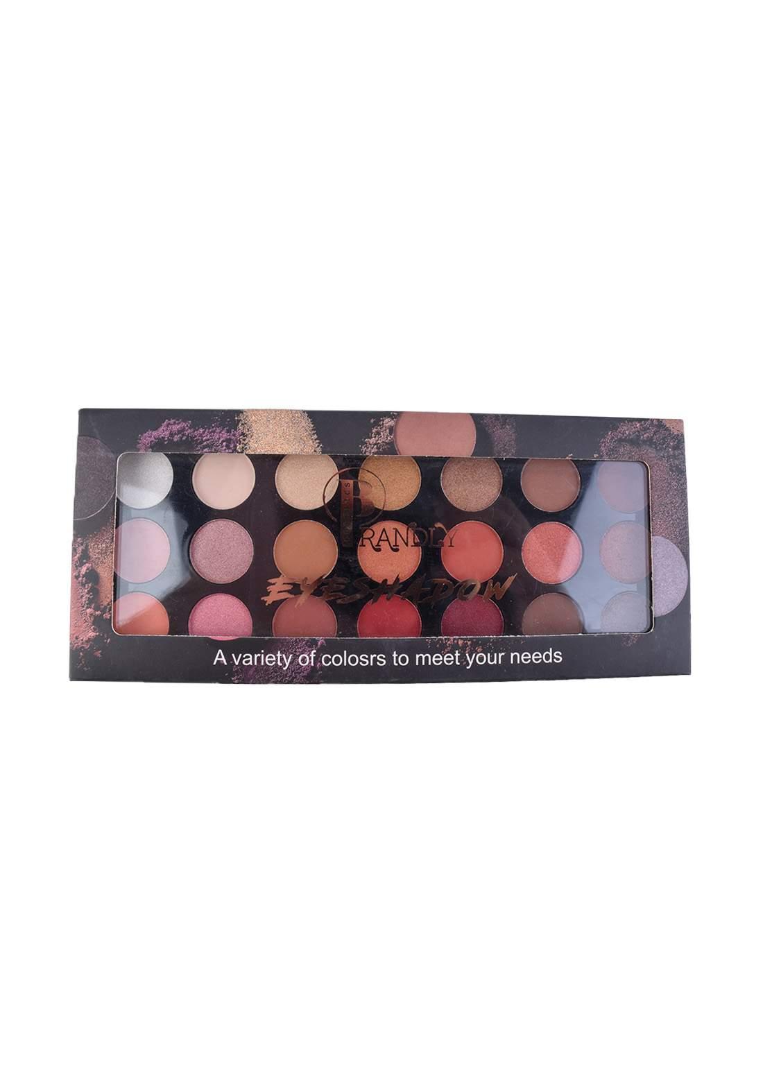 Brandly Cosmetics Eyeshadow Palette No.1 ظلال عيون