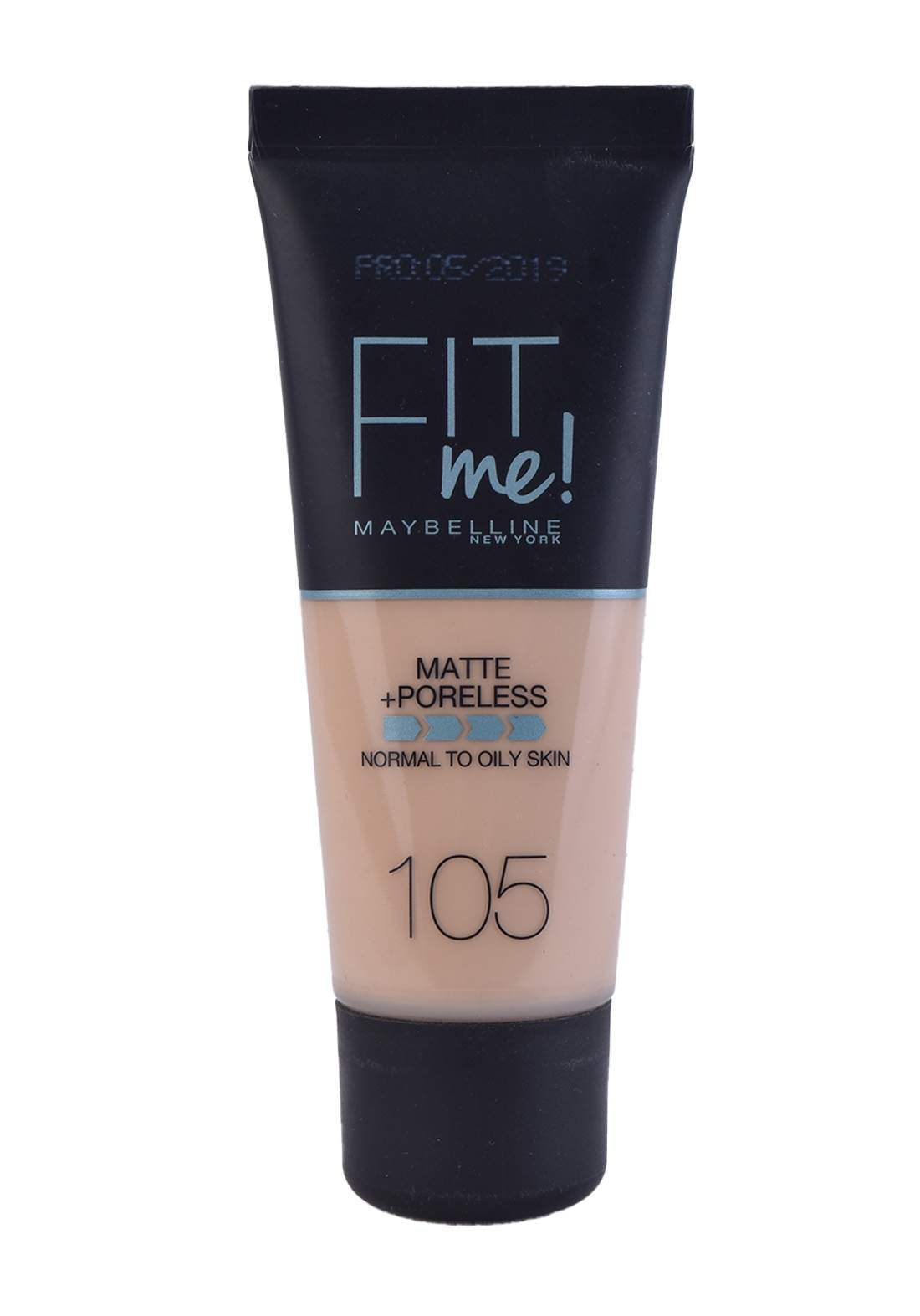 Maybelline Fit Me Foundation Cream 30ml Natural Ivory No:105 كريم اساس