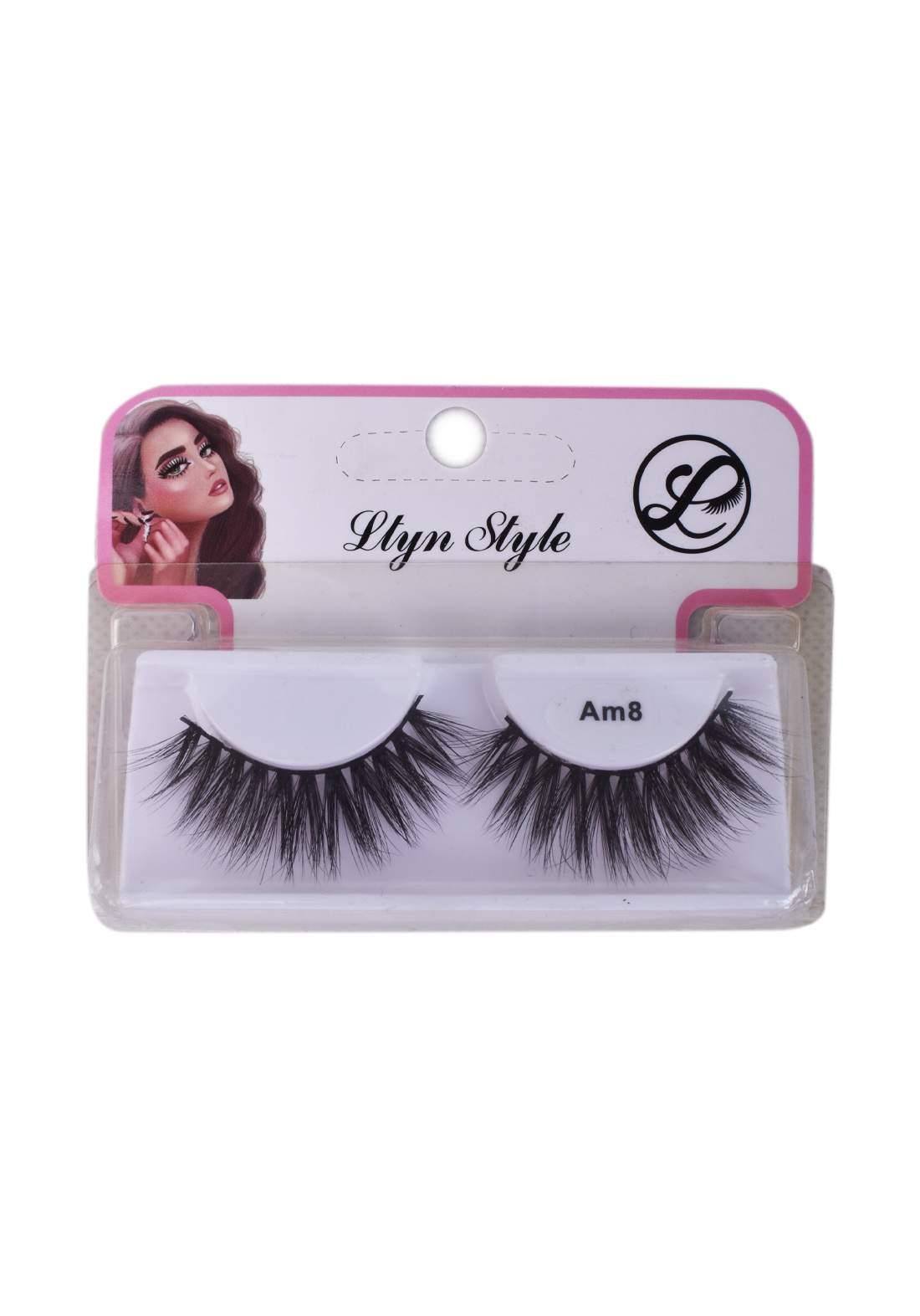 Lytn Style no.Am8 False Eyelashes رموش صناعية