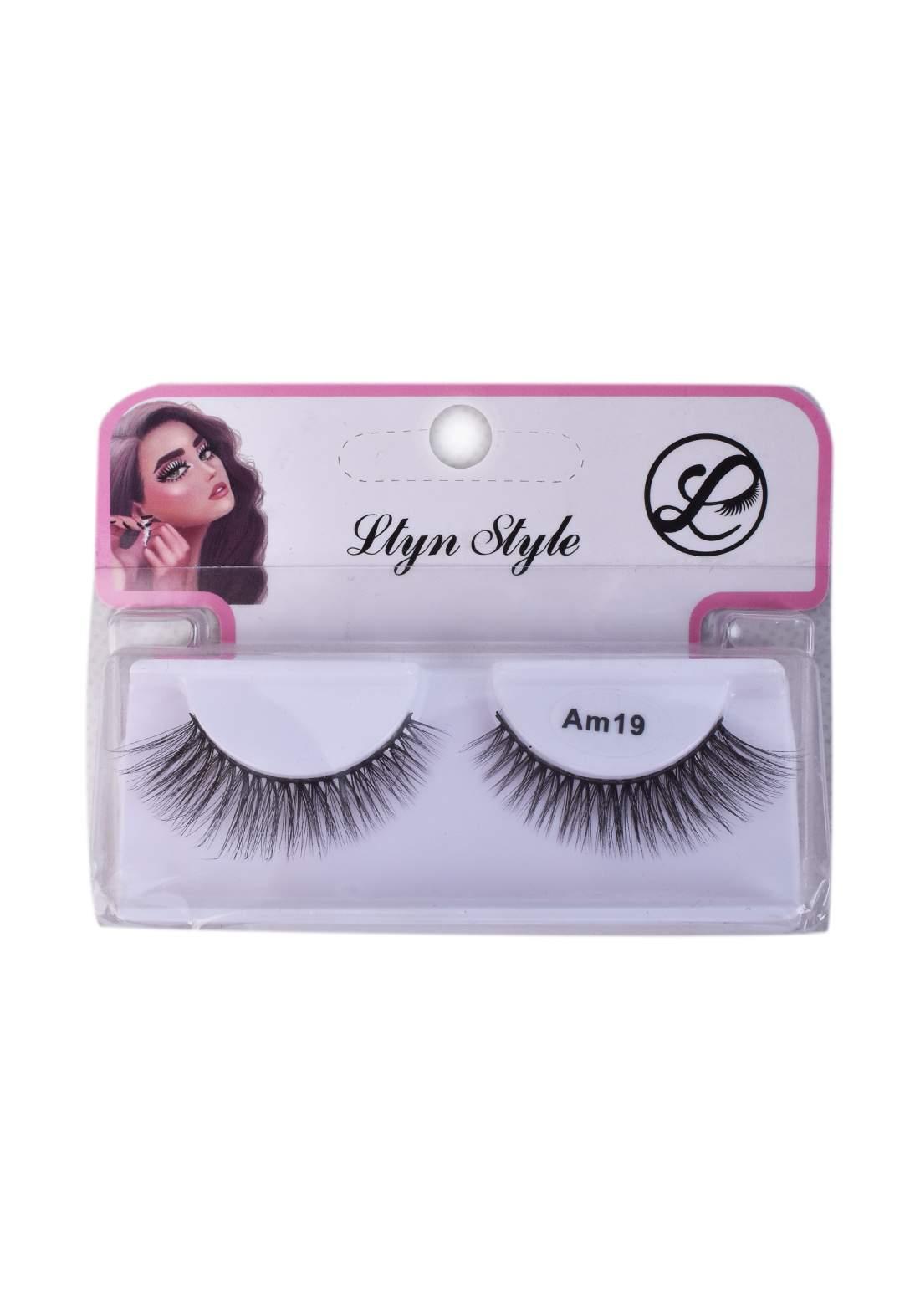 Lytn Style no.Am19 False Eyelashes رموش صناعية