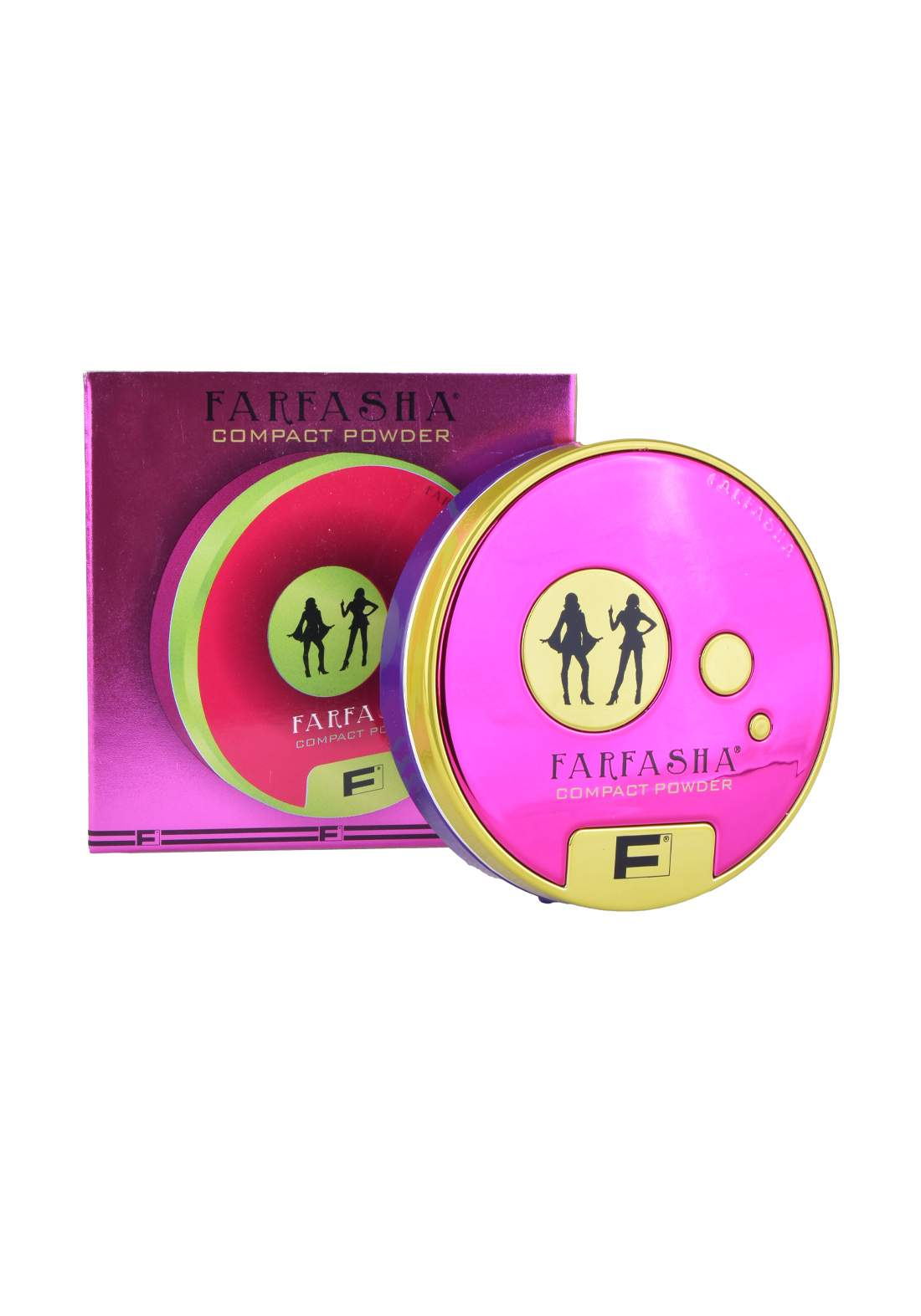 Farfasha Compact Powder No.3 باودر مضغوط