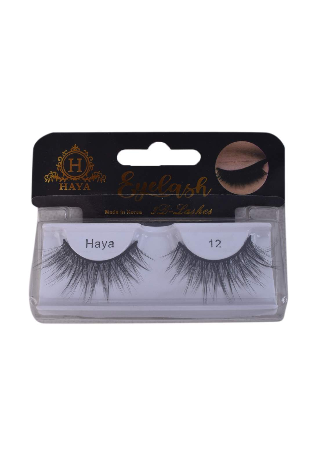 Haya Eyelashes 3D Lashes No.12 رموش