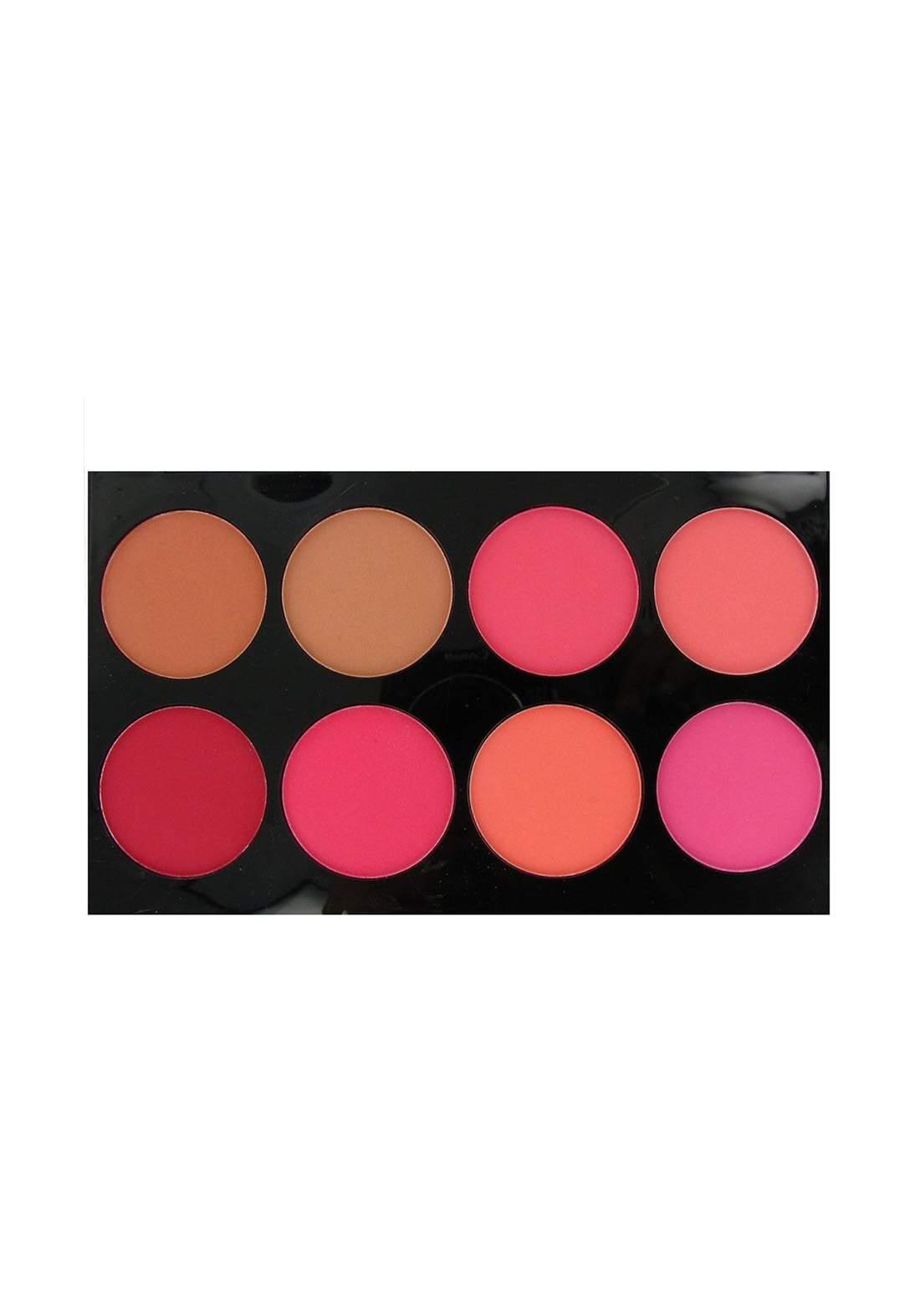 Technic Colour Fix 8 Colour Blush Palette 5g باليت احمر خدود
