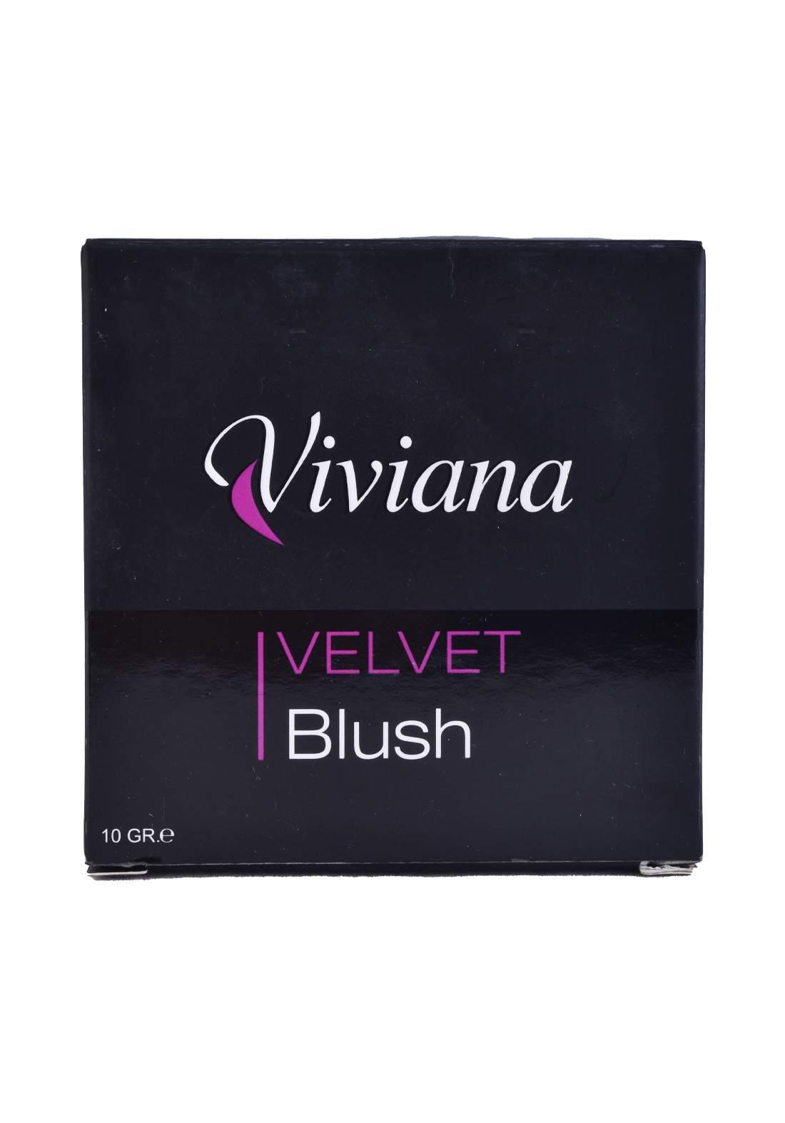 Viviana Velvet Blush No.4 10g احمر خدود
