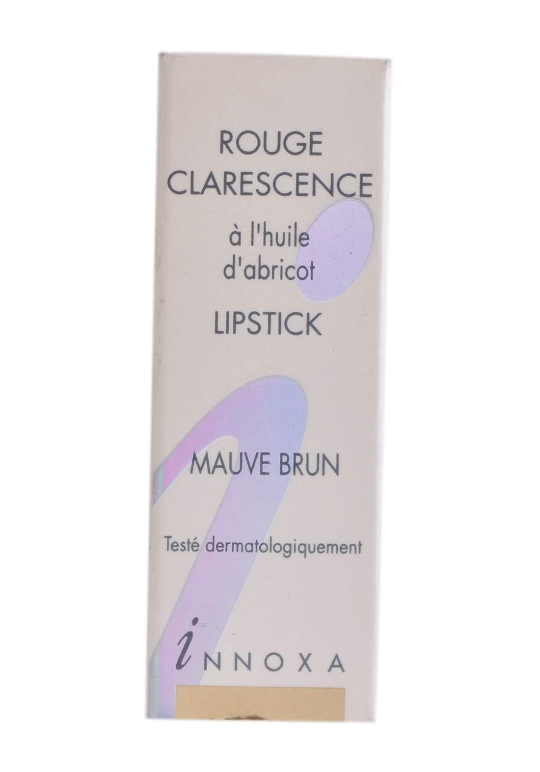 Innoxa Lipstick Rouge Pouge Clarescence -Mauve Brun  احمر شفاه