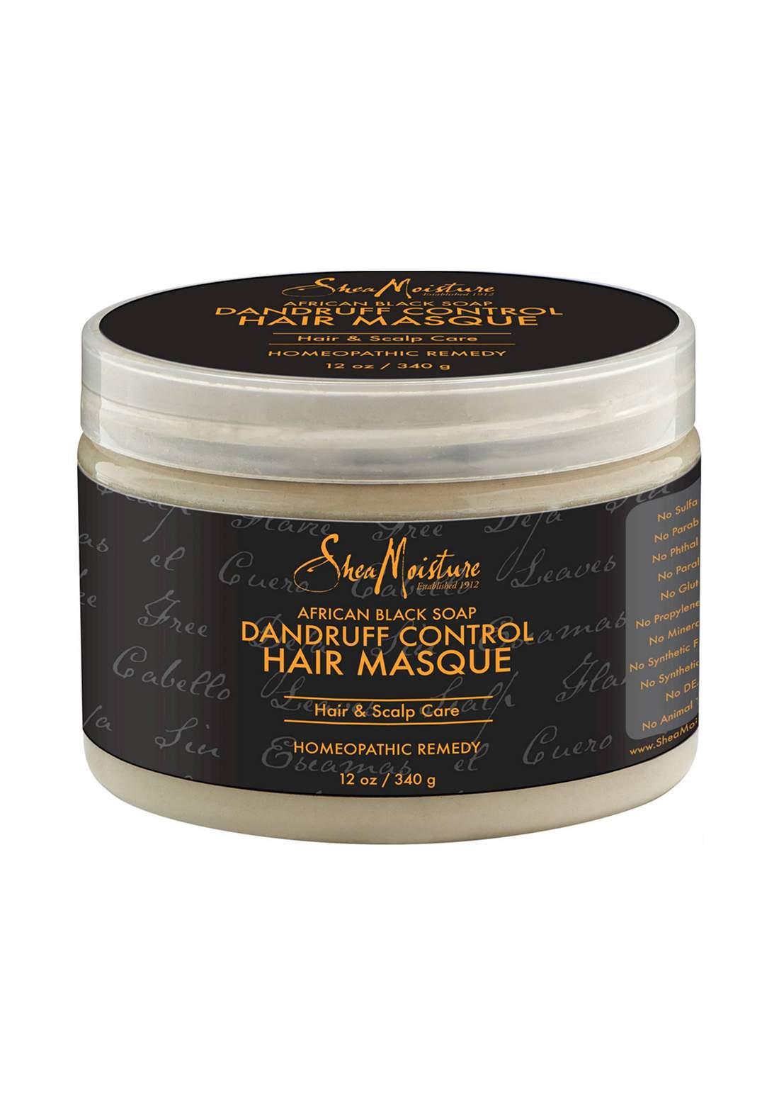 Shea Moisture African Black Soap Purifying Hair Mask قناع للشعر