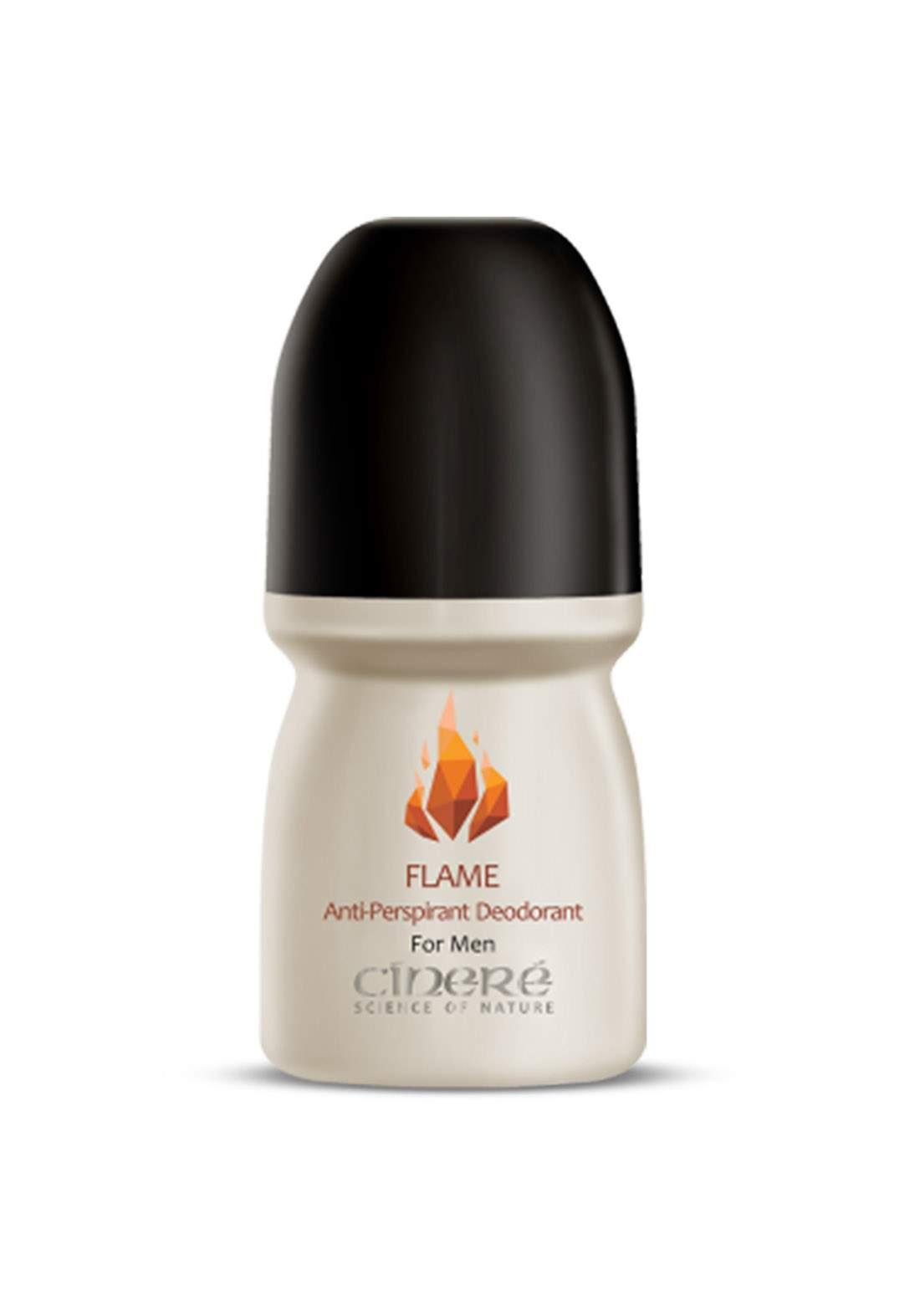 Cinere Cinnamon Men Deodorant Roll-flame مضاد للتعرق
