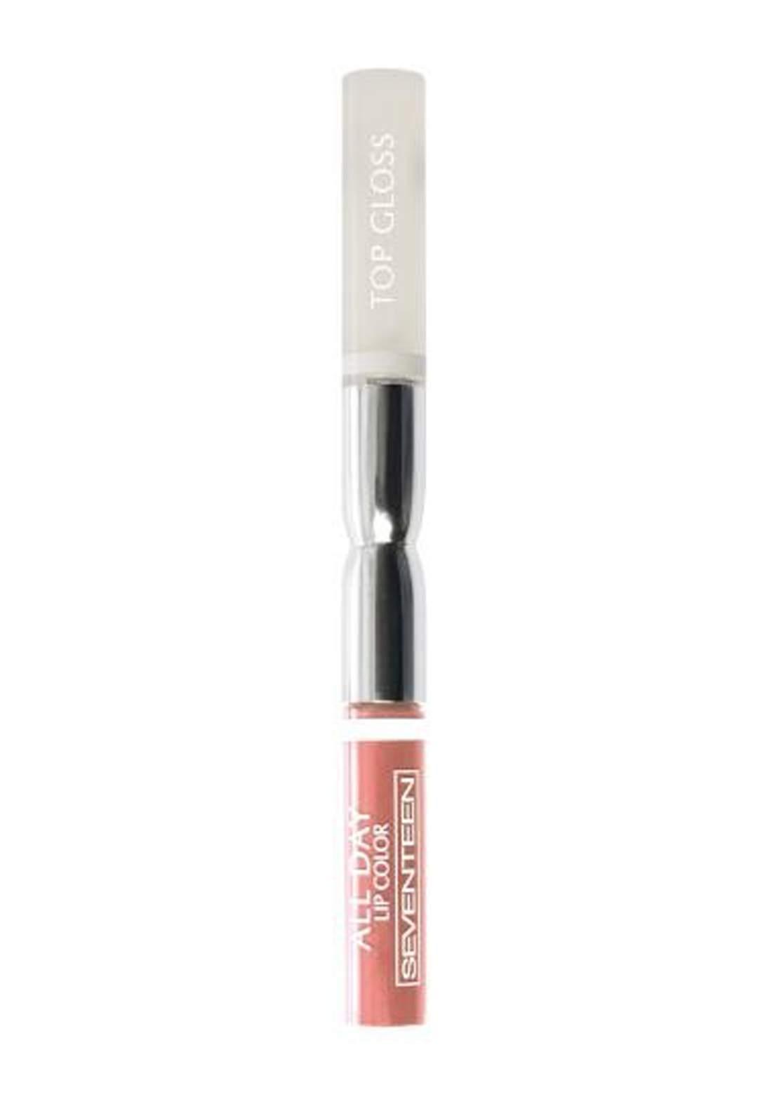 Seventeen All Day Lip Color & Top Gloss Ice Peach No. 19  ملمع شفاه