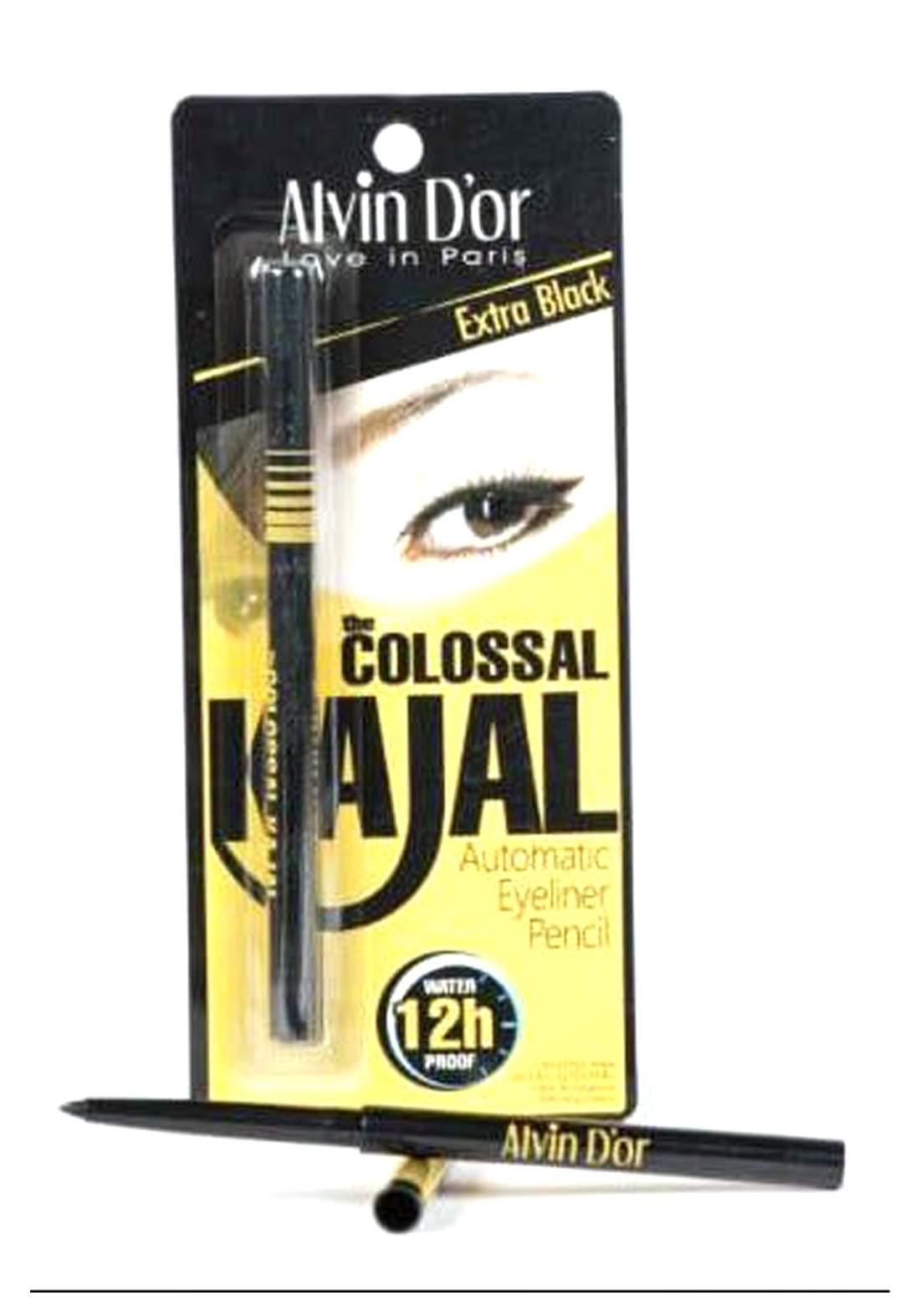 Alvin D'or Colossal Kajal Eyeliner12 H قلم تحديد العيون