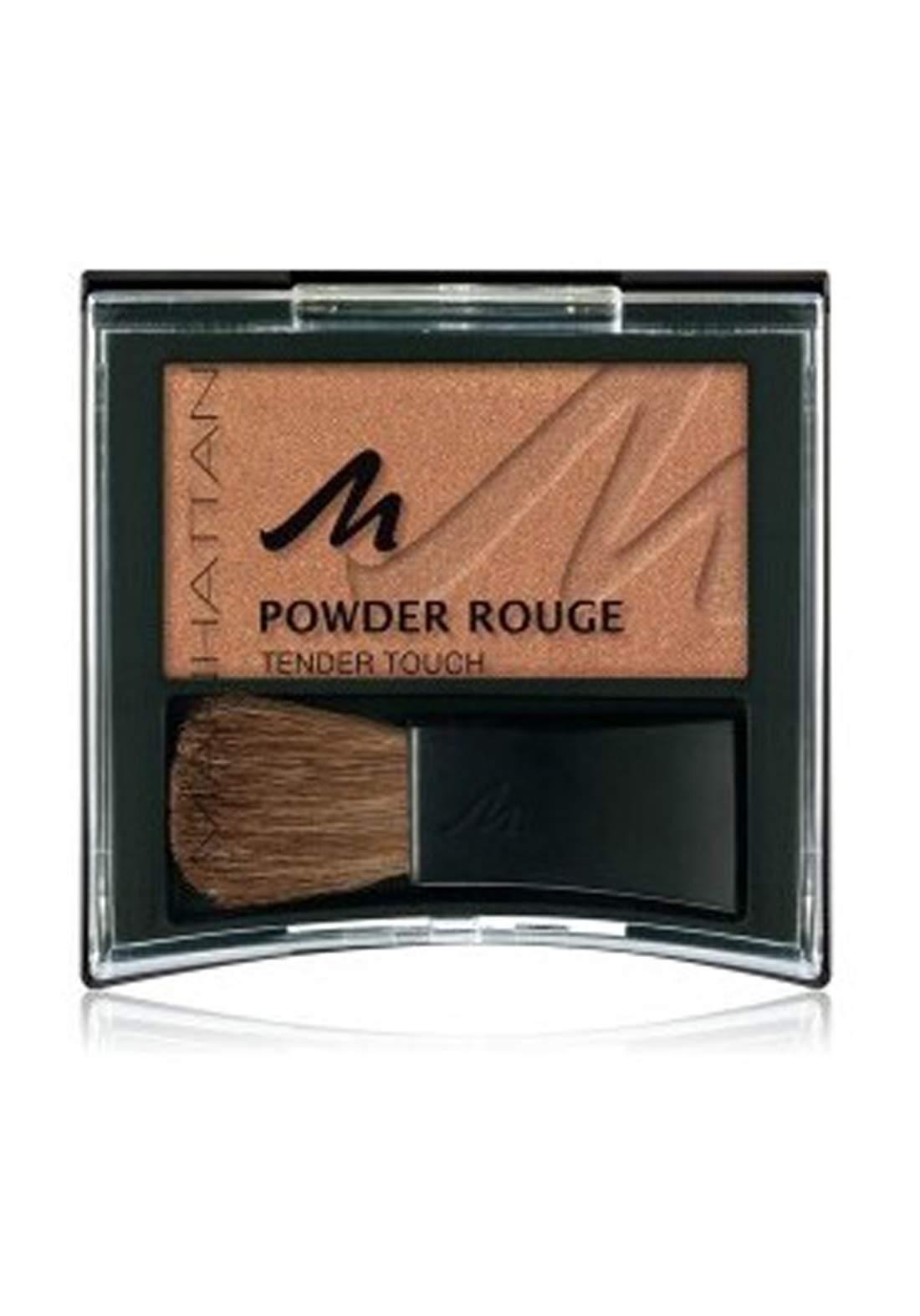 Manhattan Powder Rouge Tender Touch (9 Golden Brown)باودر أحمر خدود