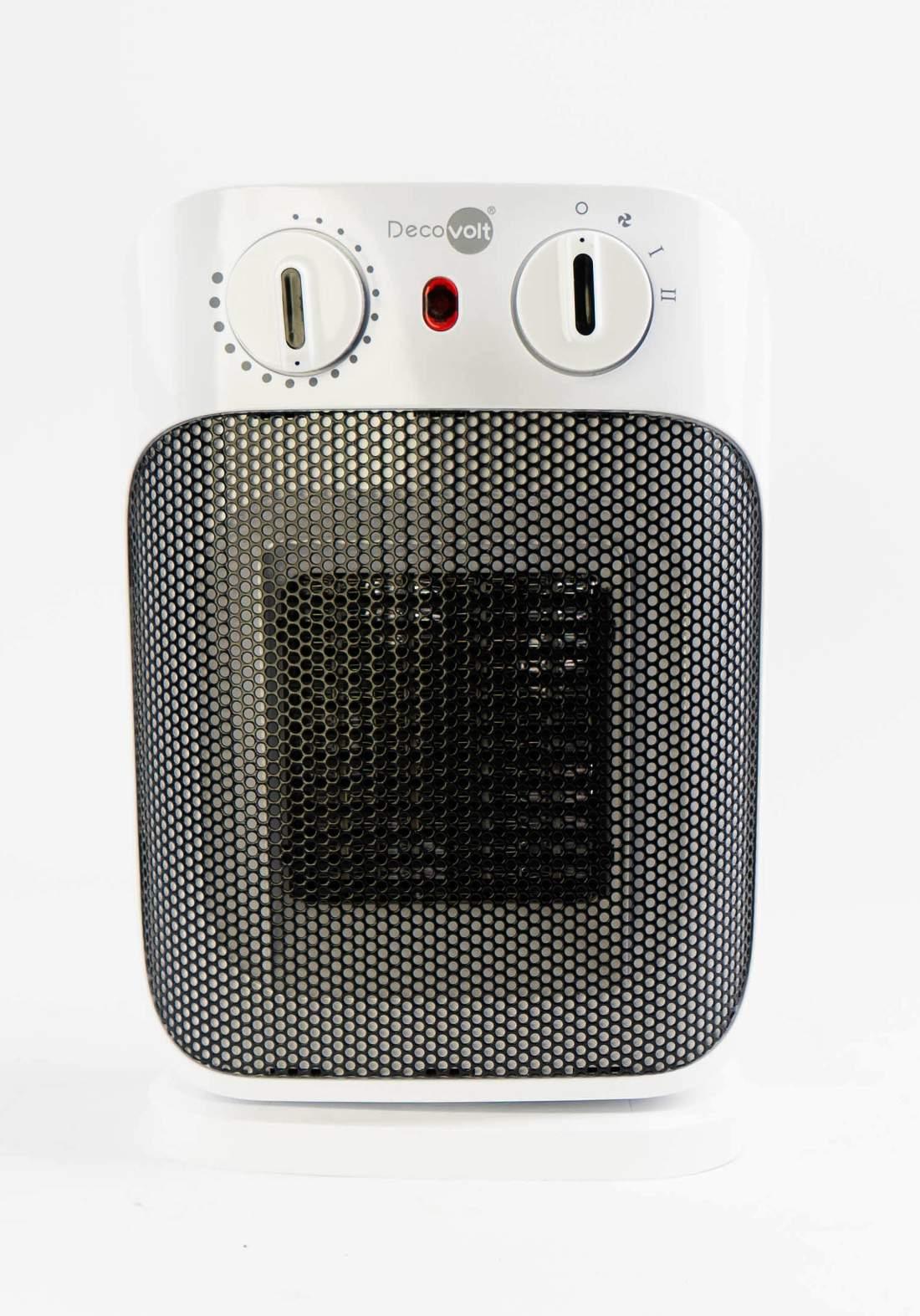 DecoVolt 5663 Rotary Tabletop Heater Fan 1800 w مدفئة 1800 واط مروحة