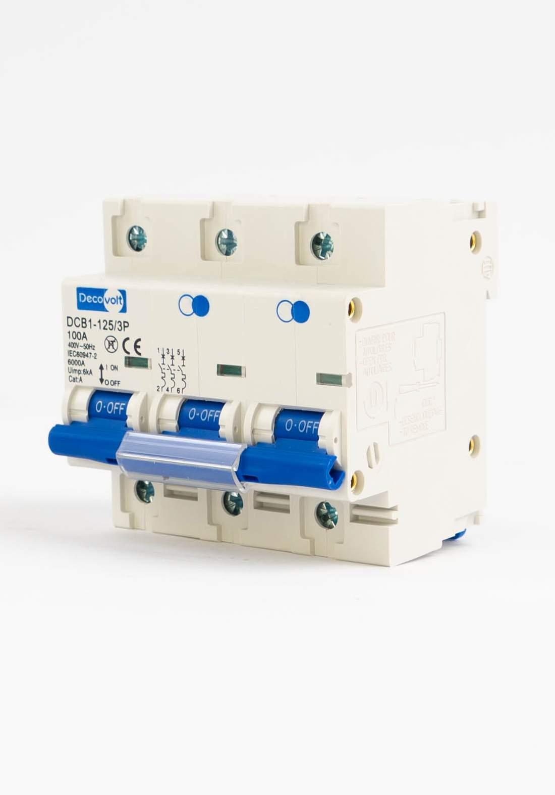 DecoVolt 2624 Triple drill 125 ampere جوزة 125 ثلاثي