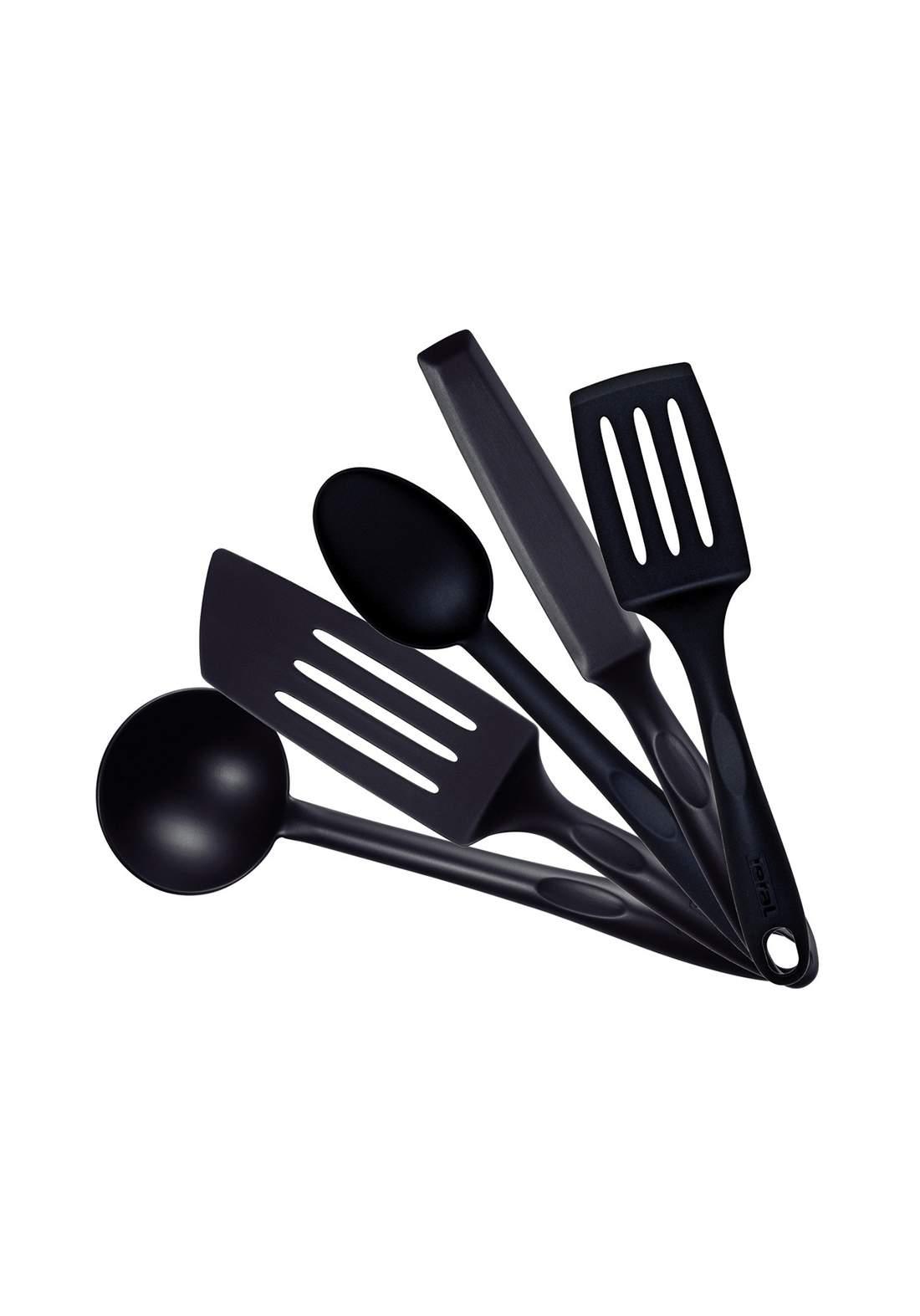 Tefal K001A505 Bienvenue Kitchen Tool 5 Pcs Set -Black سيت أدوات الطهي