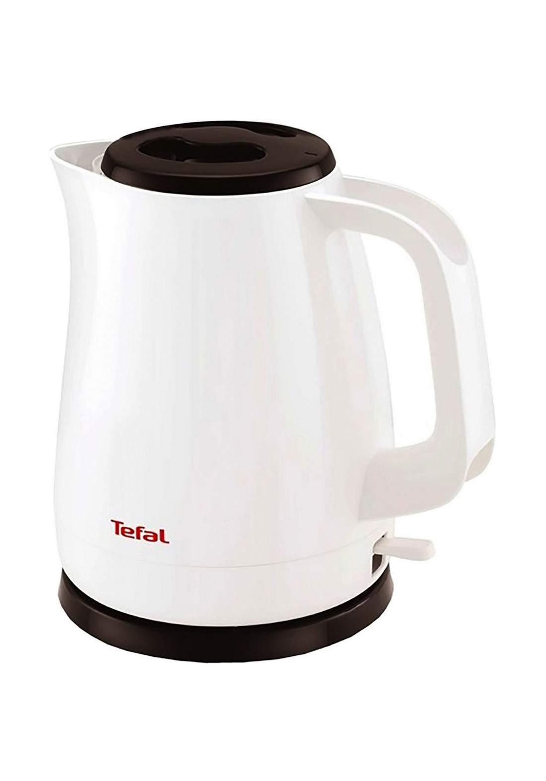 Tefal KO150127 Cordless Kettle 1.5L - White غلاية