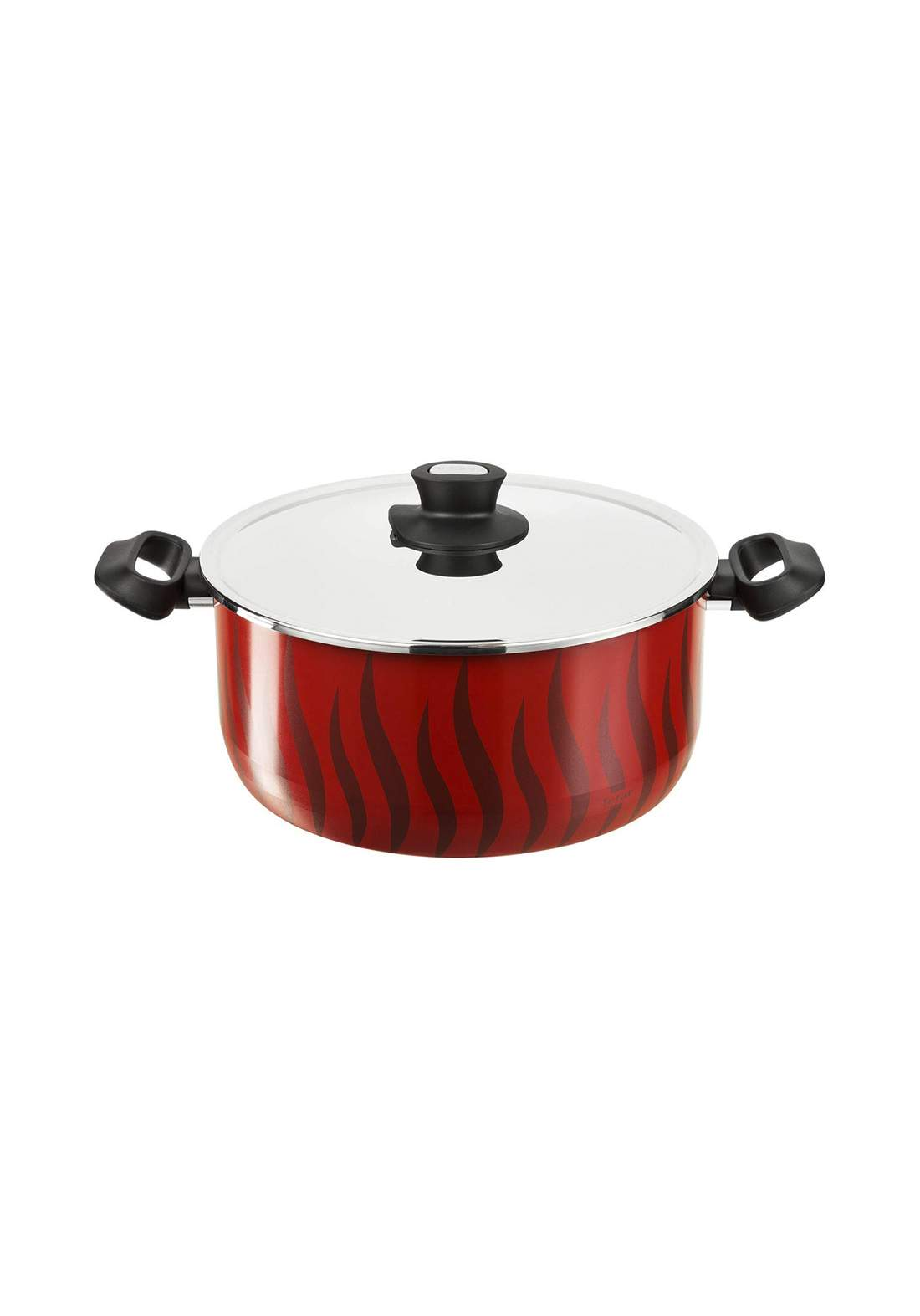 Tefal C3045283 P&P Alu Ns Ptfe New G6 Tempo Flame - Dutch Oven 26 + SS قدر