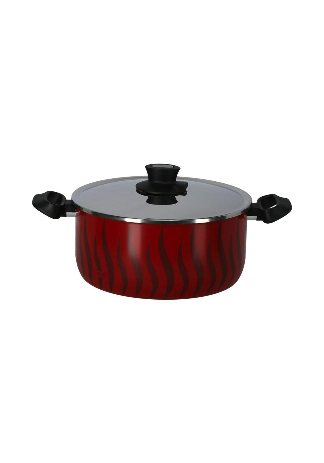Tefal C3045383 P&P Alu Ns Ptfe New G6 Tempo Flame - Dutch Oven 28cm + SS قدر