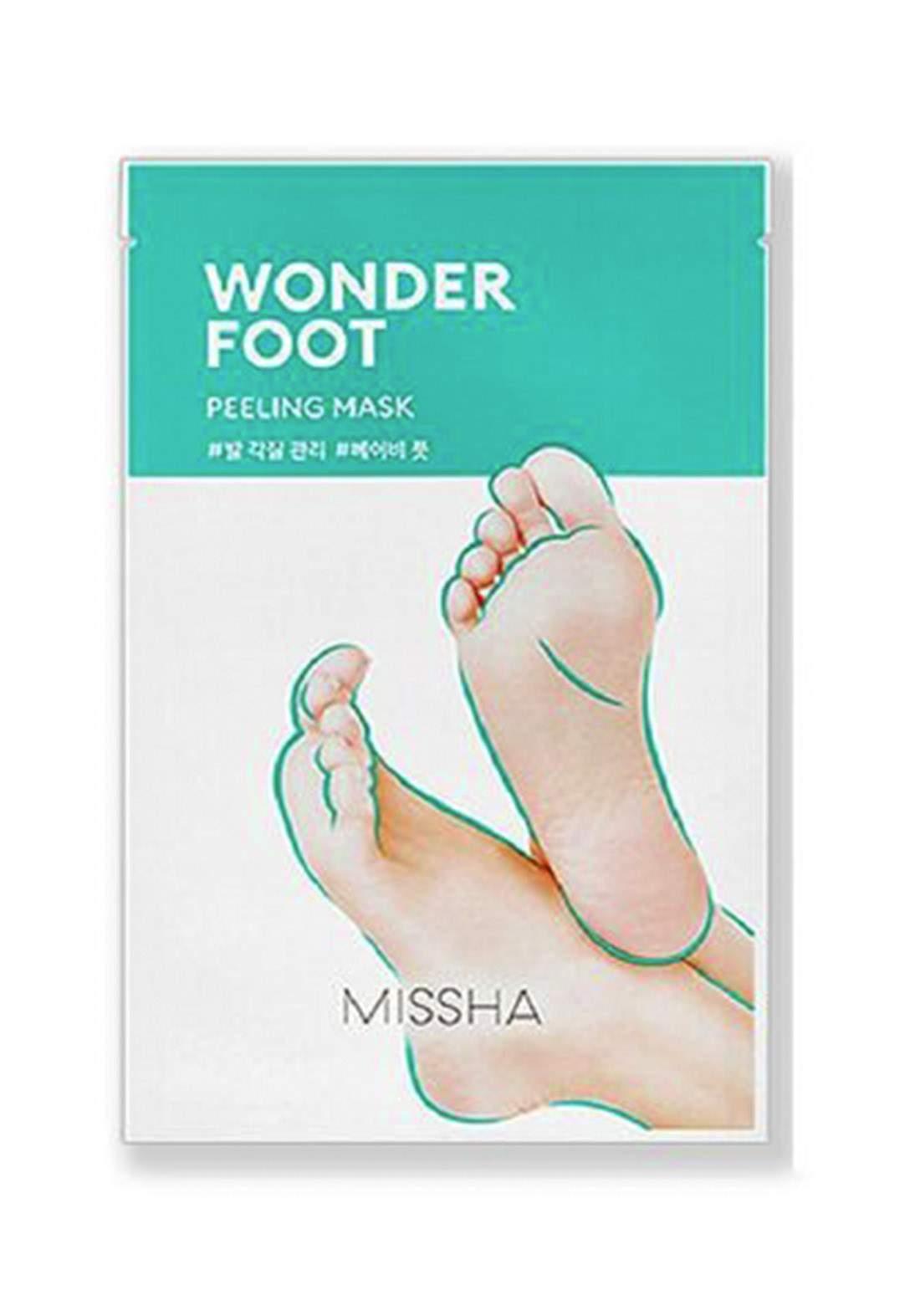 Missha Wonder Foot Peeling Mask 50ml ماسك مقشر للقدم