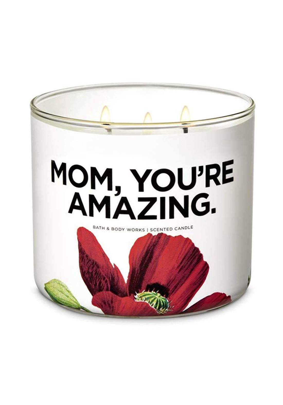 Bath And Body Works Mom Who Are Amazing 3-Wick  Candle 411g شمعة عطرية