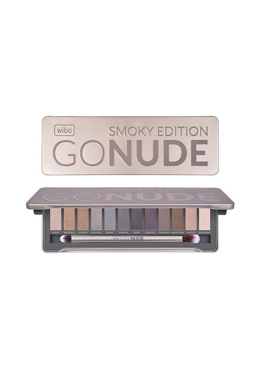 Go Nude Smoky Edition Eyeshadow Palette باليت ظلال العيون