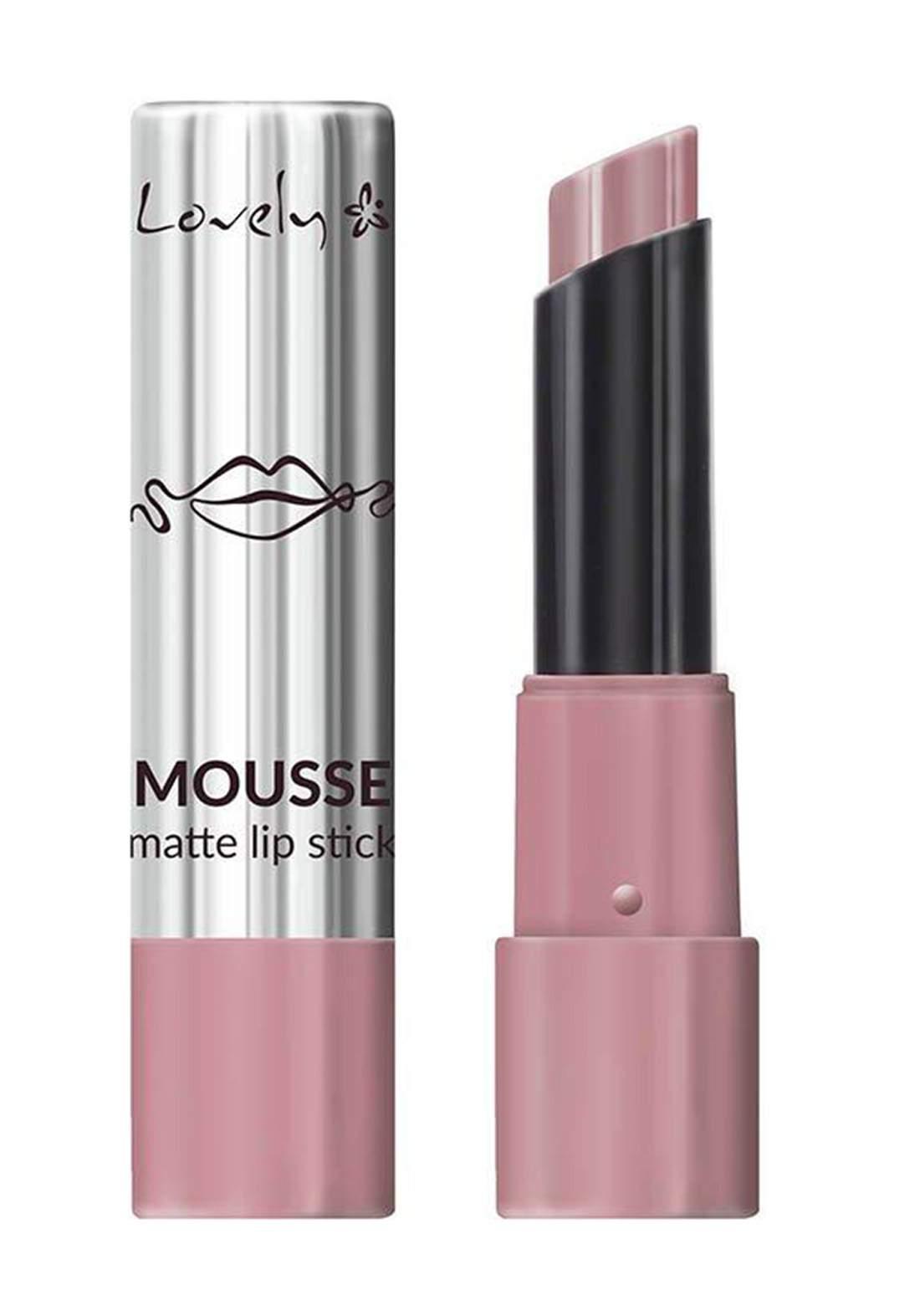 Lovely Mousse Matte Lipstick No.3 أحمر شفاه مات