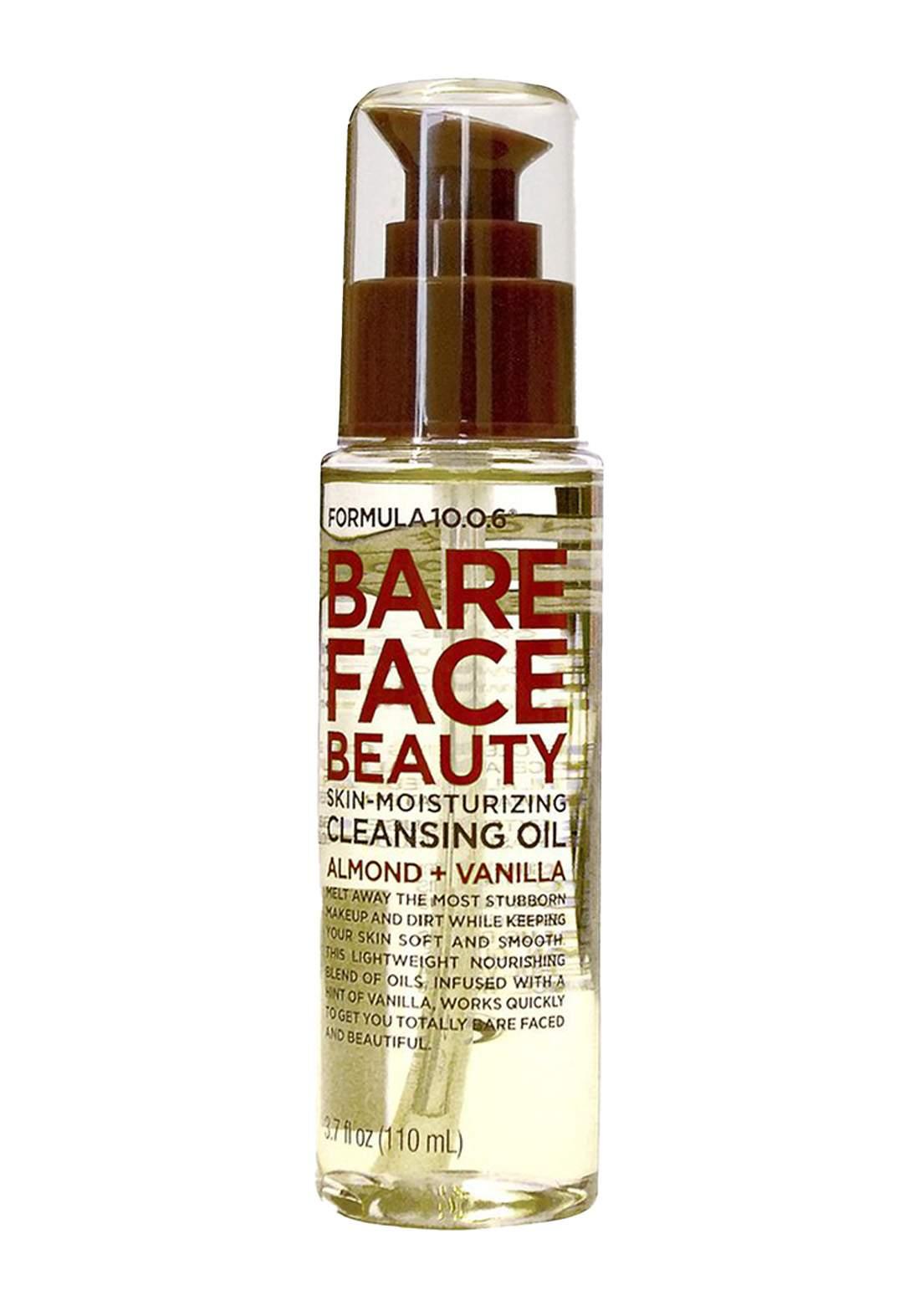 Formula Bare Face Beauty Skin-Moisturizing Cleansing Oil 110ml مزيل مكياج زيتي