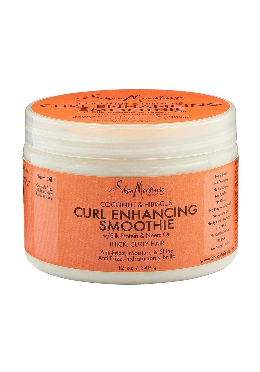 Shea Moisture Coconut & Hibiscus Curl Enhancing Smoothieمرطب للشعر
