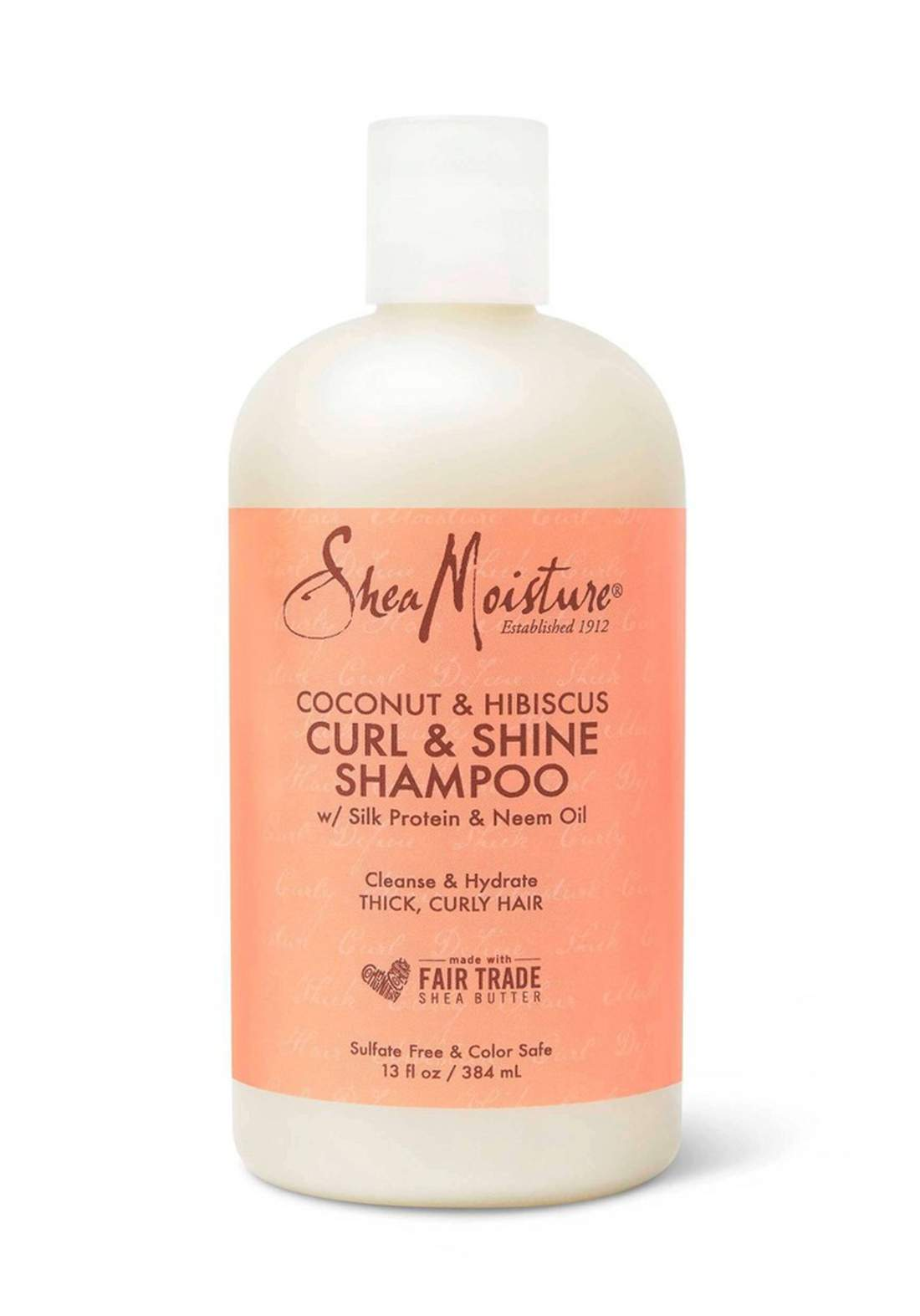Shea Moisture Coconut & Hibiscus Curl & Shine Shampooشامبو