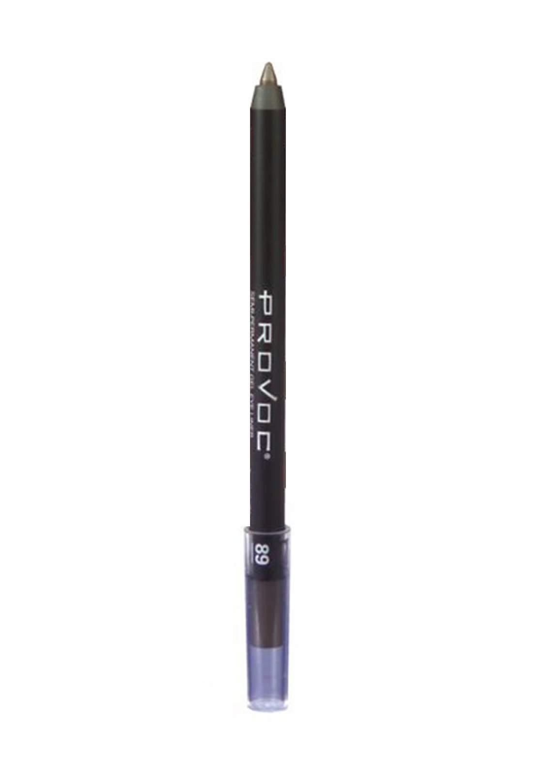 Provoc 353-0019 Semi-Permanent Waterproof Gel Eye Pencil No.89 Sweet Chocolate محدد العيون