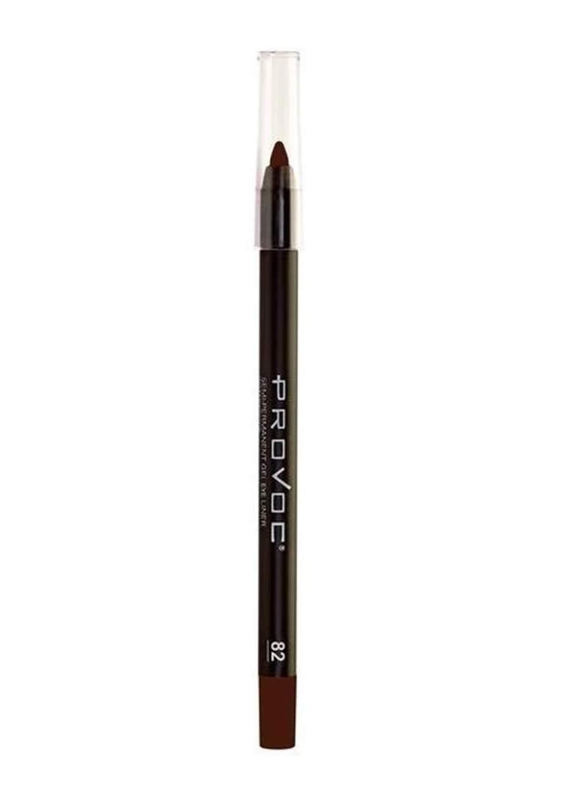 Provoc 353-0027 Semi-Permanent Gel Eyeliner Pencil No.82 Tempt Me قلم تحديد العيون
